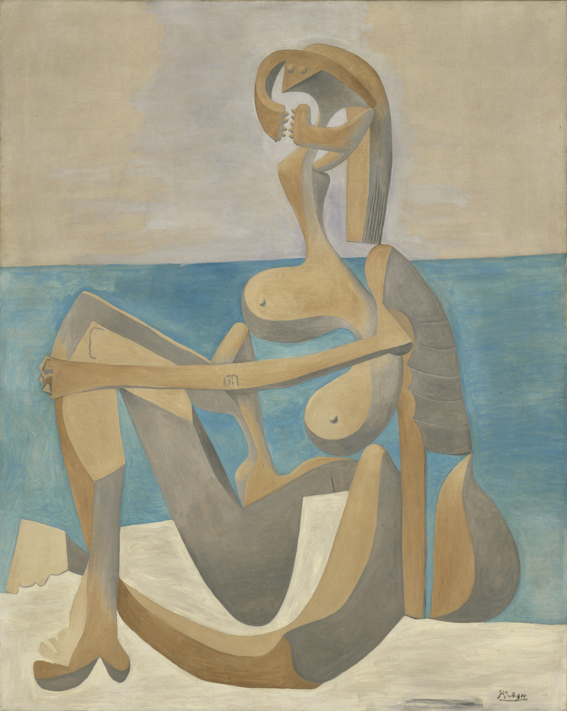 Pablo Picasso. Seated Bather. Paris, early 1930