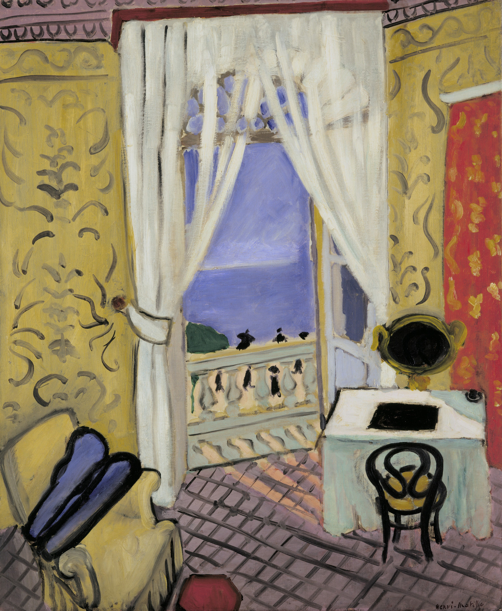 Henri Matisse. Interior with a Violin Case. Nice, winter 1918-19