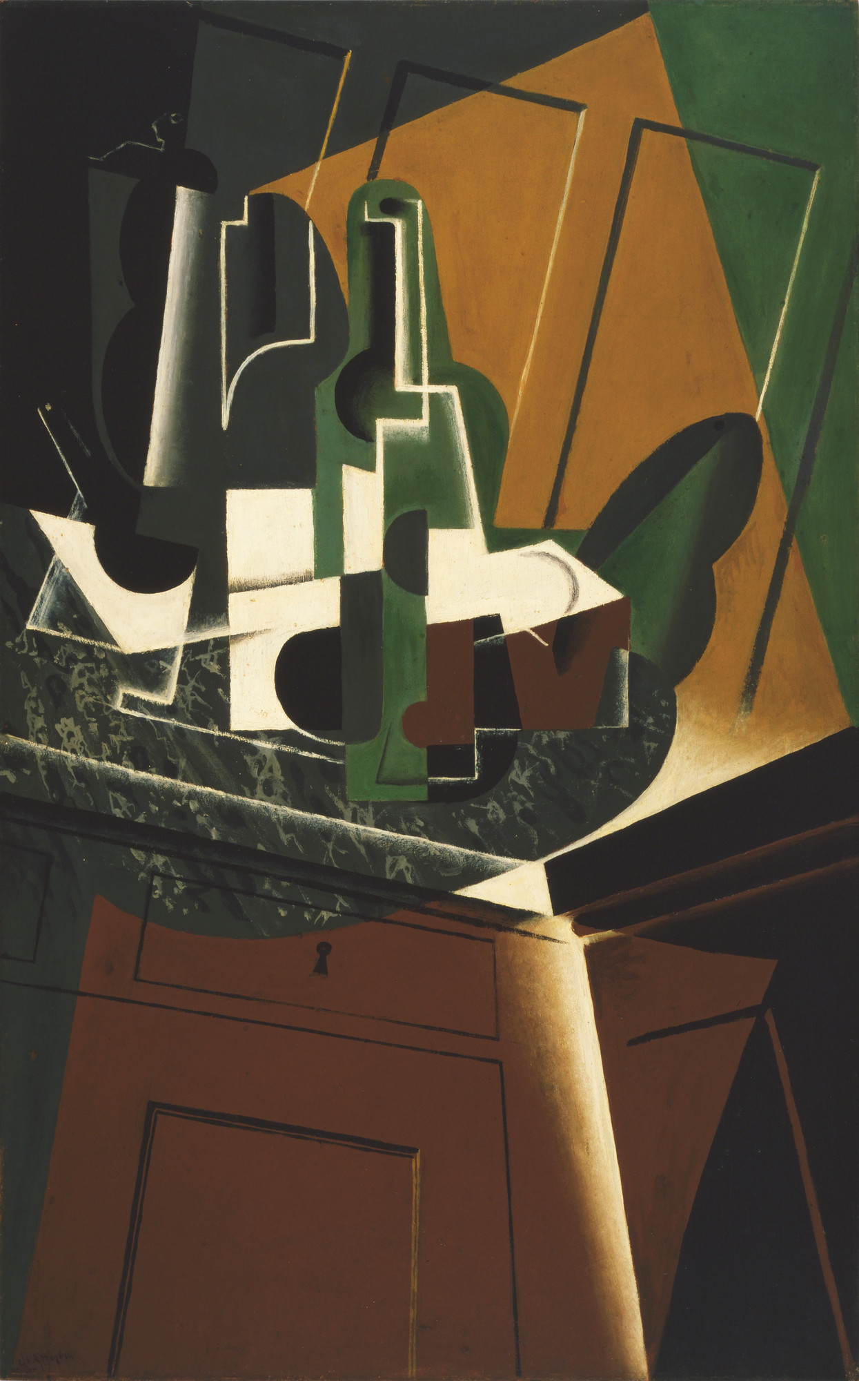 Juan Gris. The Sideboard. 1917