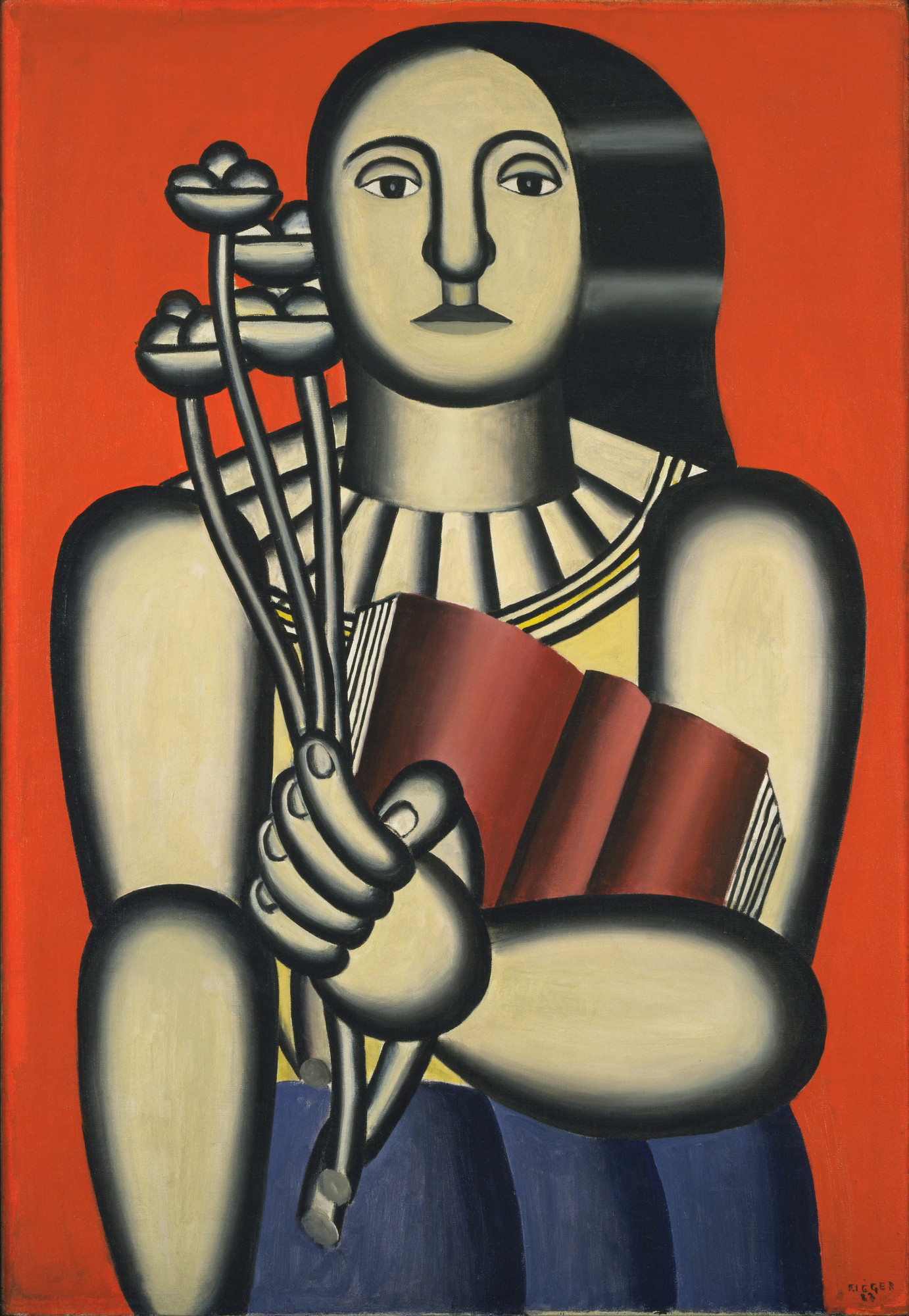 Fernand Léger. Woman with a Book. 1923