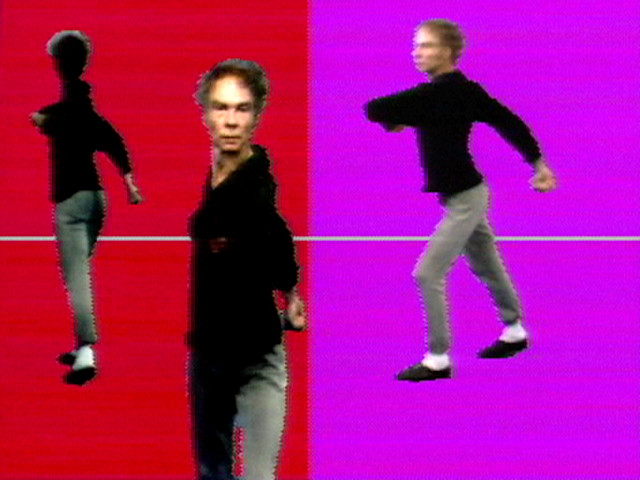 Charles Atlas, Merce Cunningham. Merce by Merce by Paik Part One: Blue Studio: Five Segments. 1975-1976