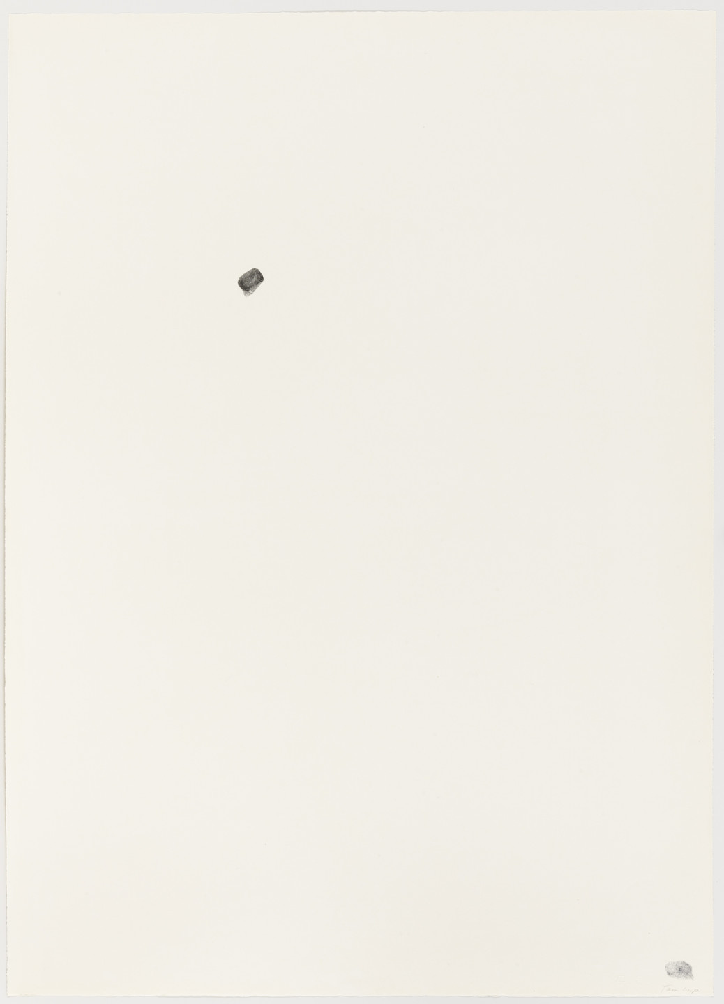 Bruce Conner. Thumb Print. 1965