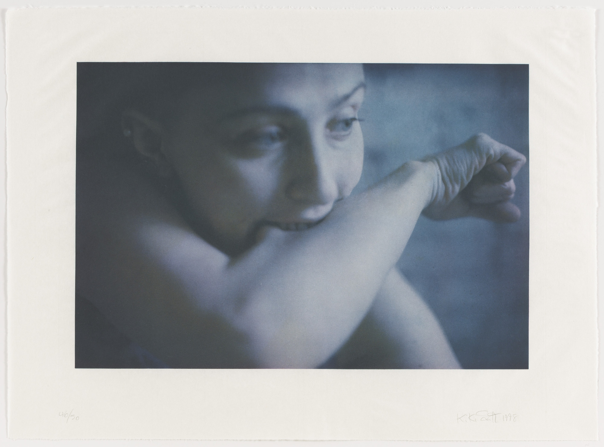 Kiki Smith. Before from Exit 8. 1998