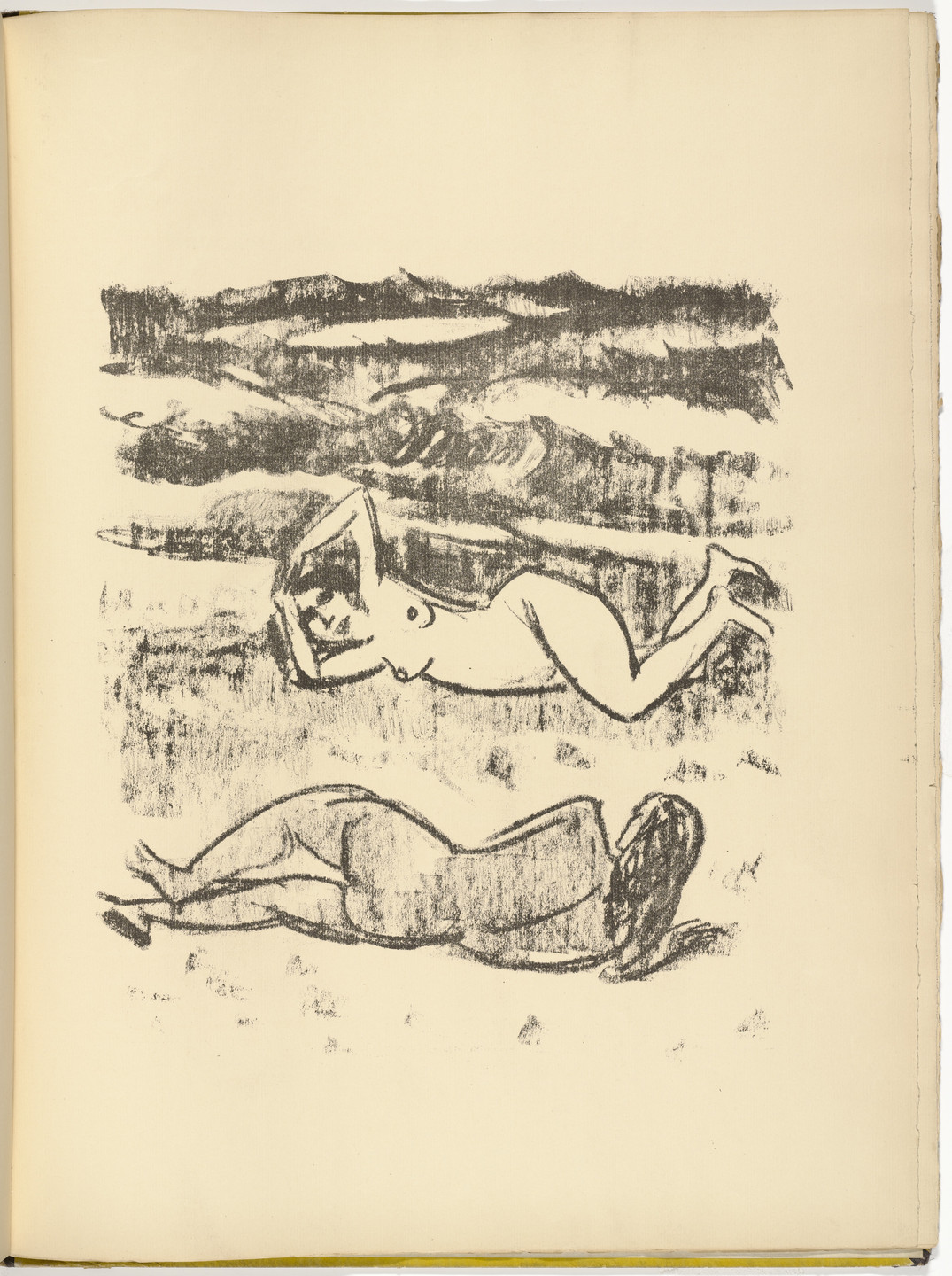 Max Pechstein. Untitled (plate, facing page 32) from Die Samländische Ode (The Samland Ode). 1918 (executed 1917)