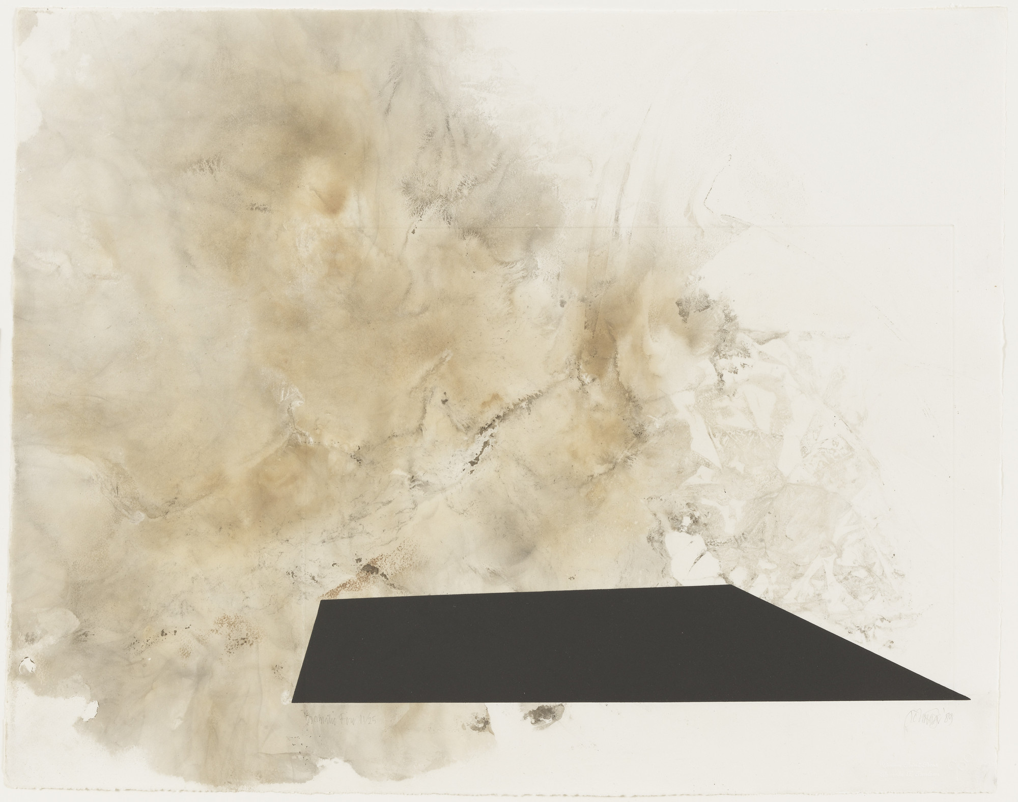 John Cage. Dramatic Fire. 1989