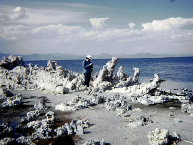 Robert Smithson, Nancy Holt. Mono Lake. 1968-2004