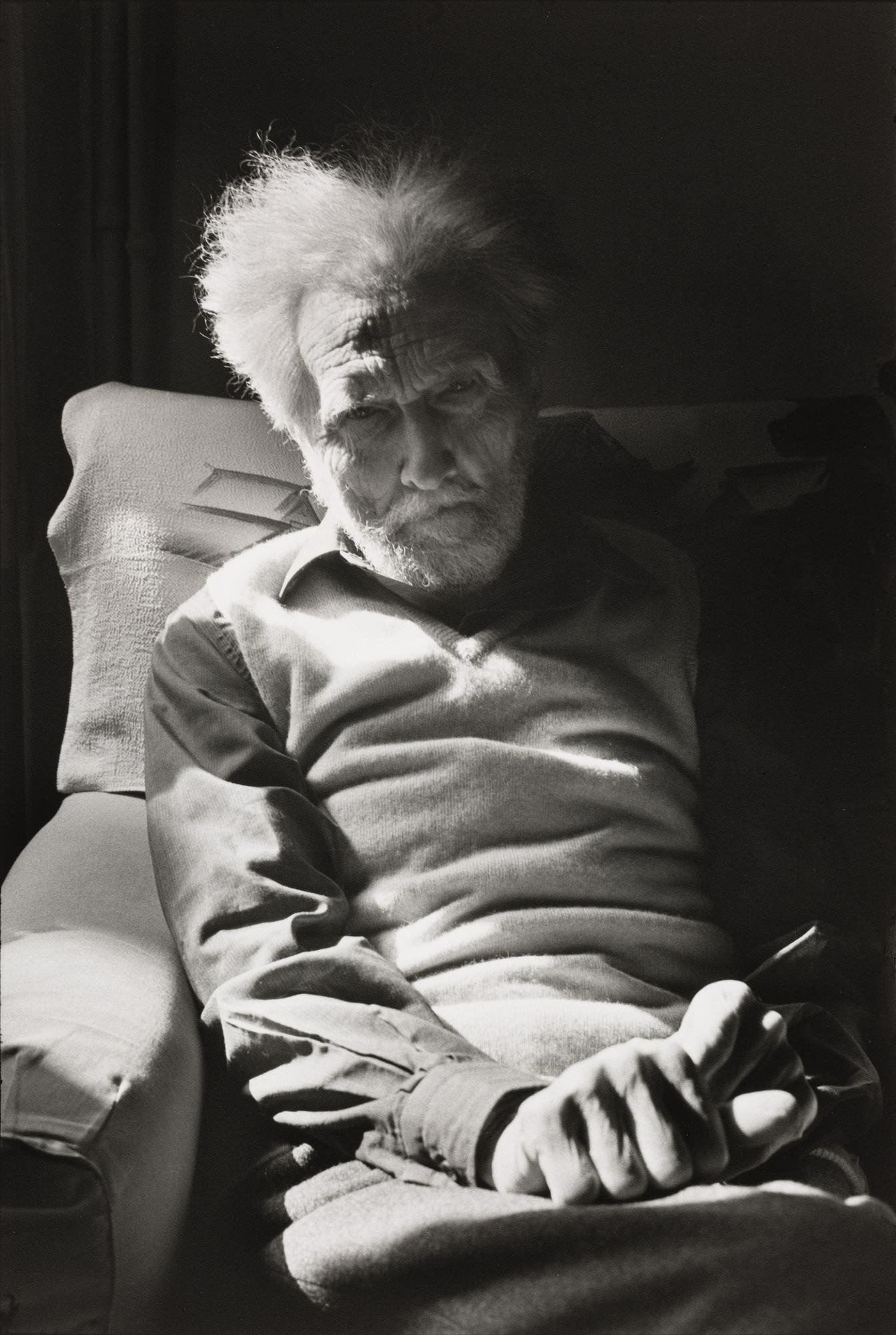 Henri Cartier-Bresson. Ezra Pound, Venice. 1971 | MoMA