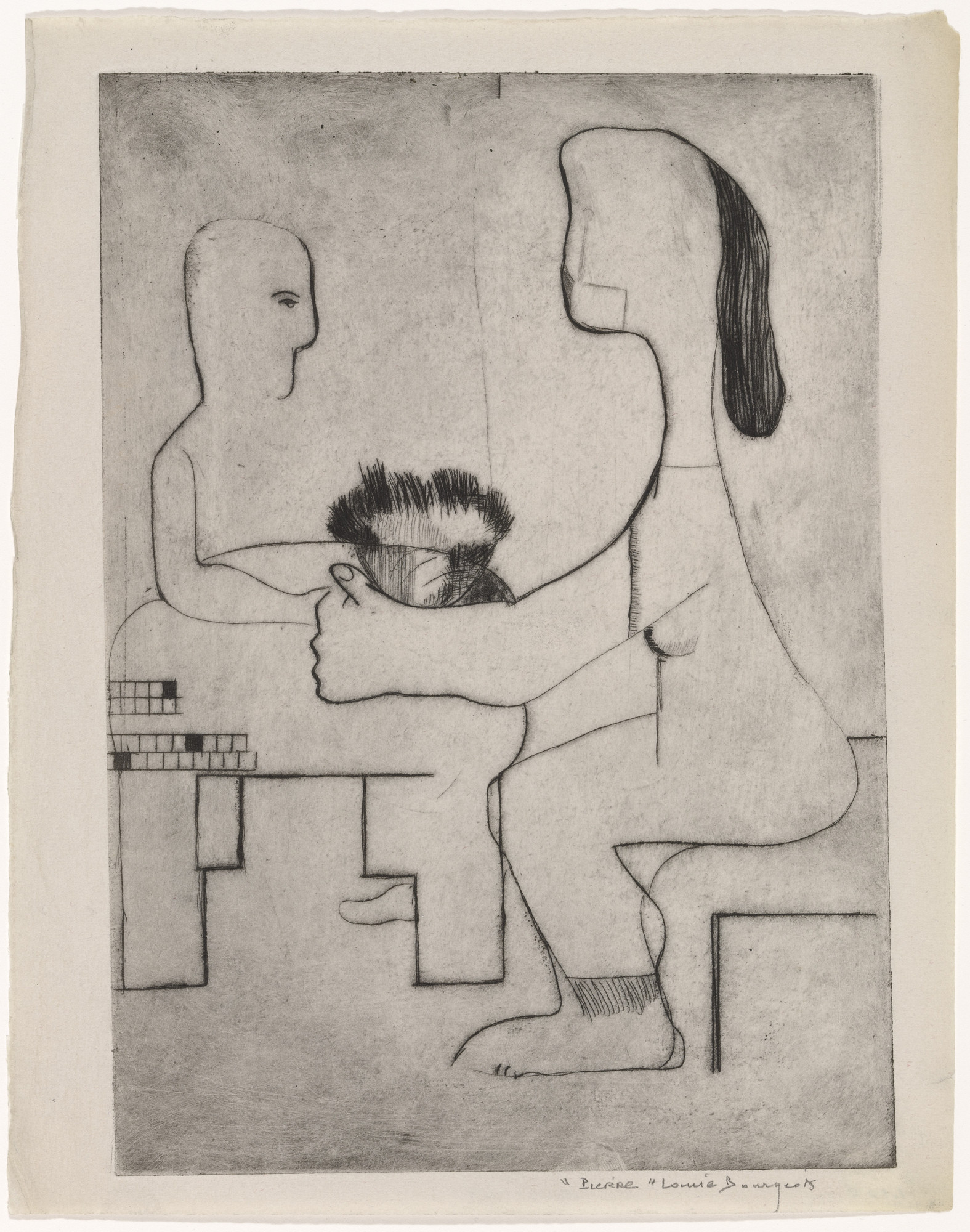 Louise Bourgeois. Pierre. 1939