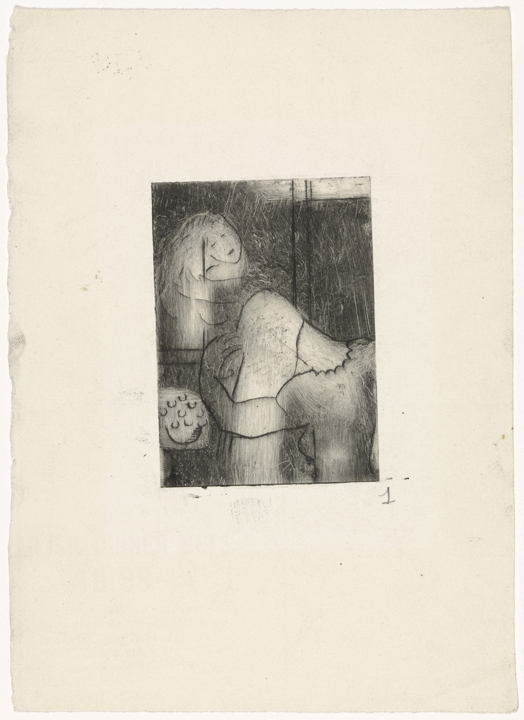 Louise Bourgeois. Morning. 1944