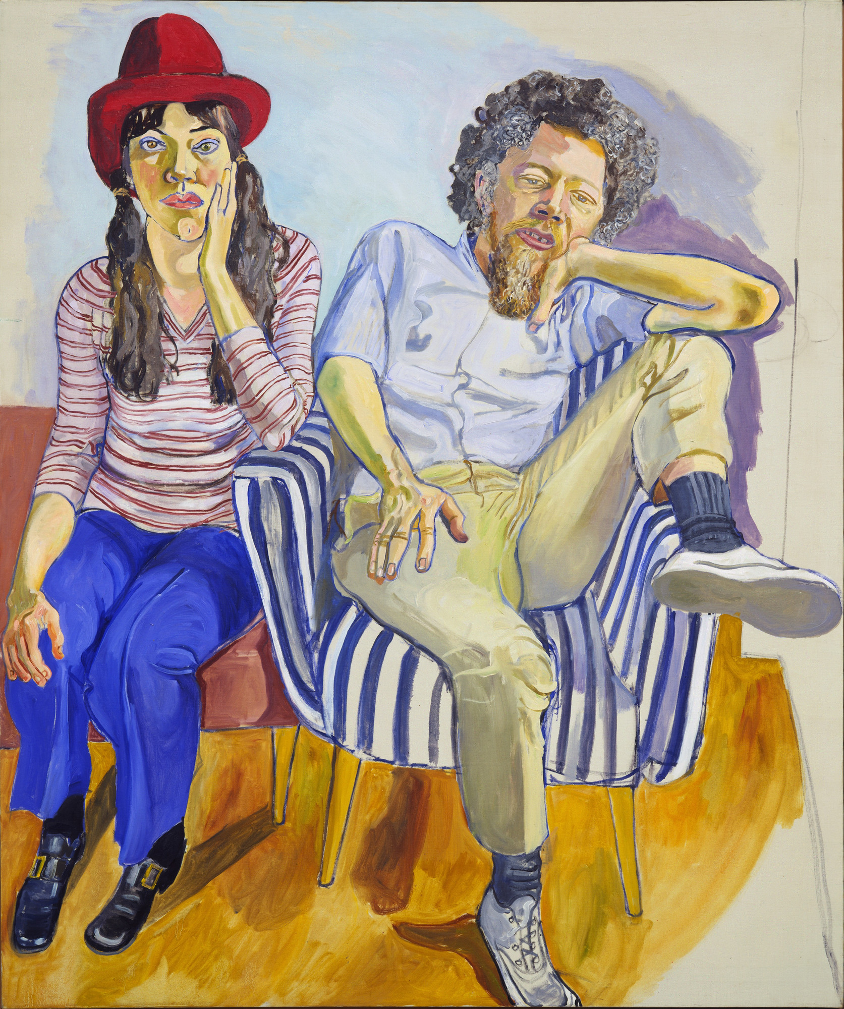 Alice Neel. Benny and Mary Ellen Andrews. 1972
