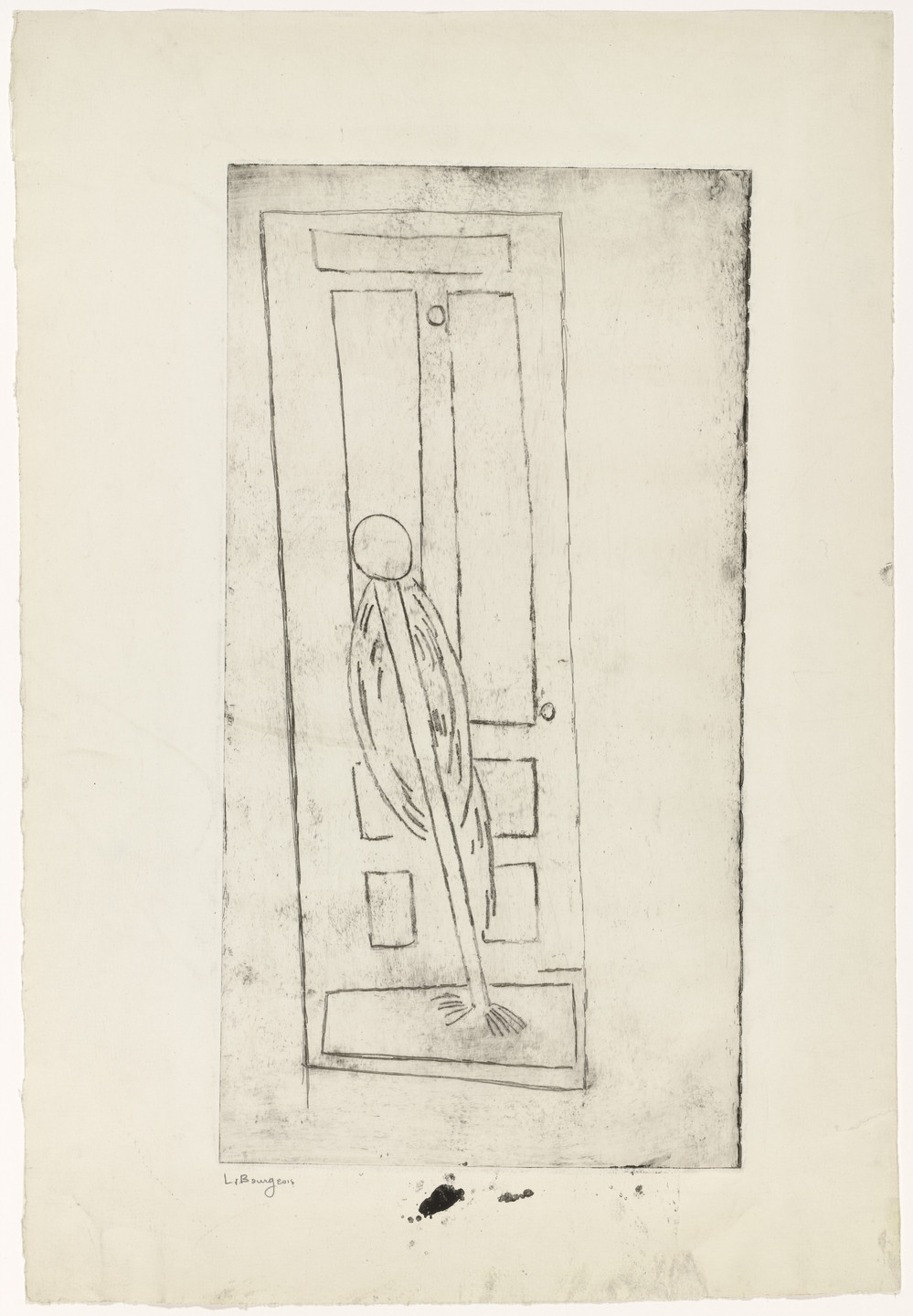 Louise Bourgeois. Thompson Street. c. 1946