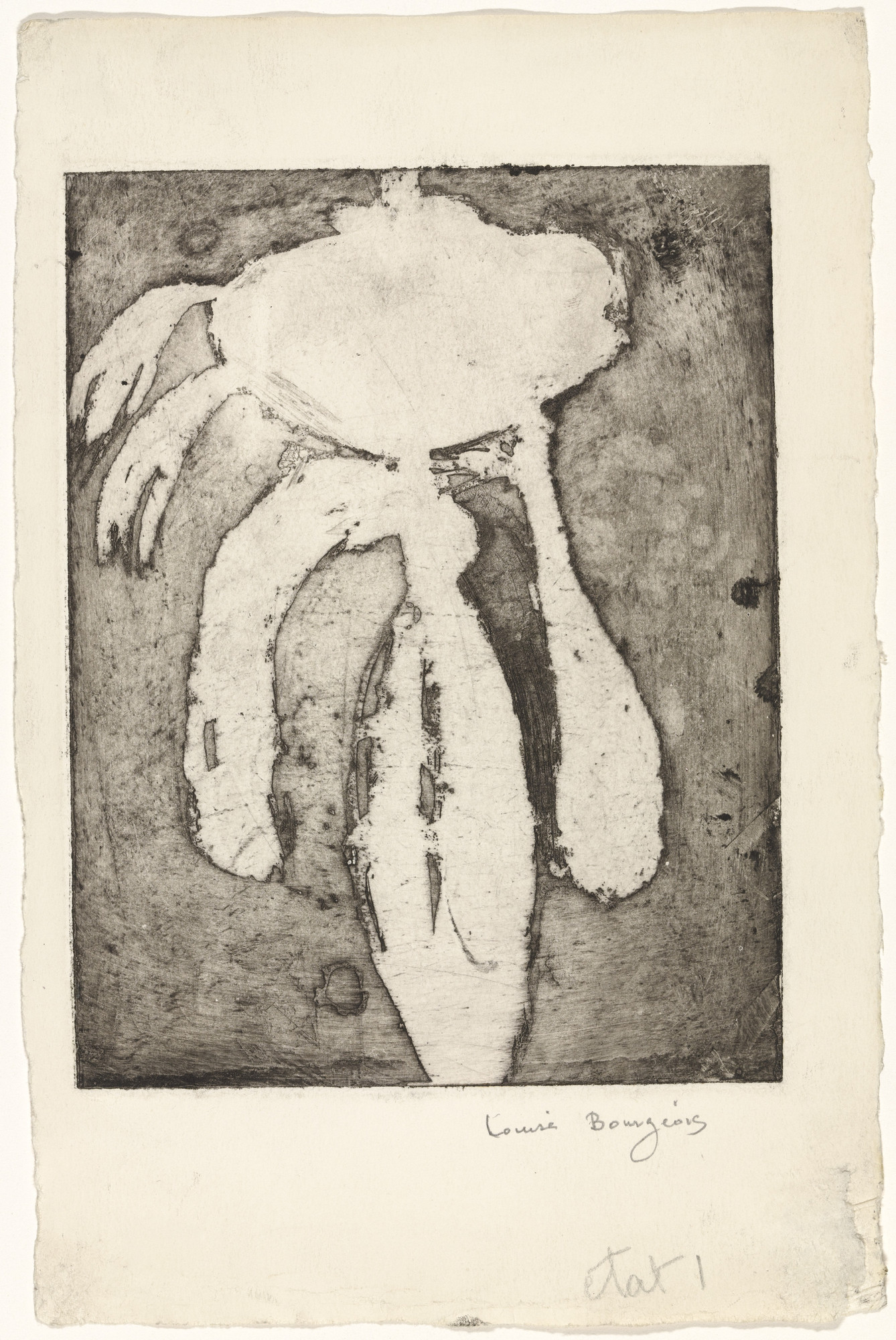 Louise Bourgeois. Personage. c. 1948