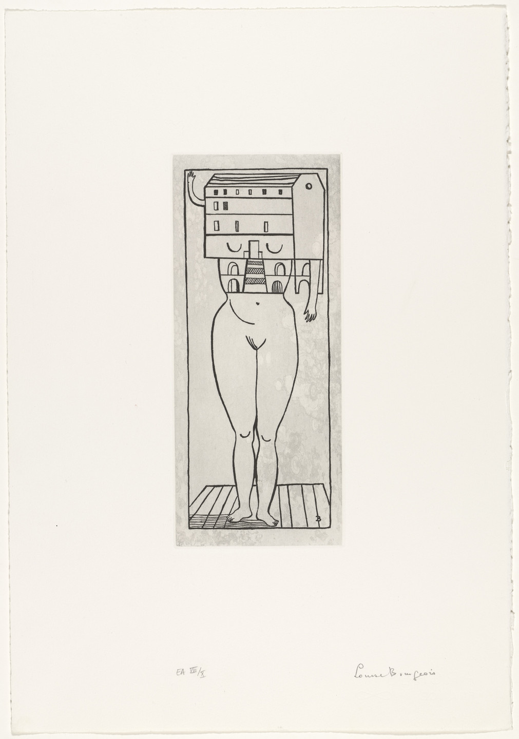 Louise Bourgeois. Femme Maison. 1984; reprinted 1990
