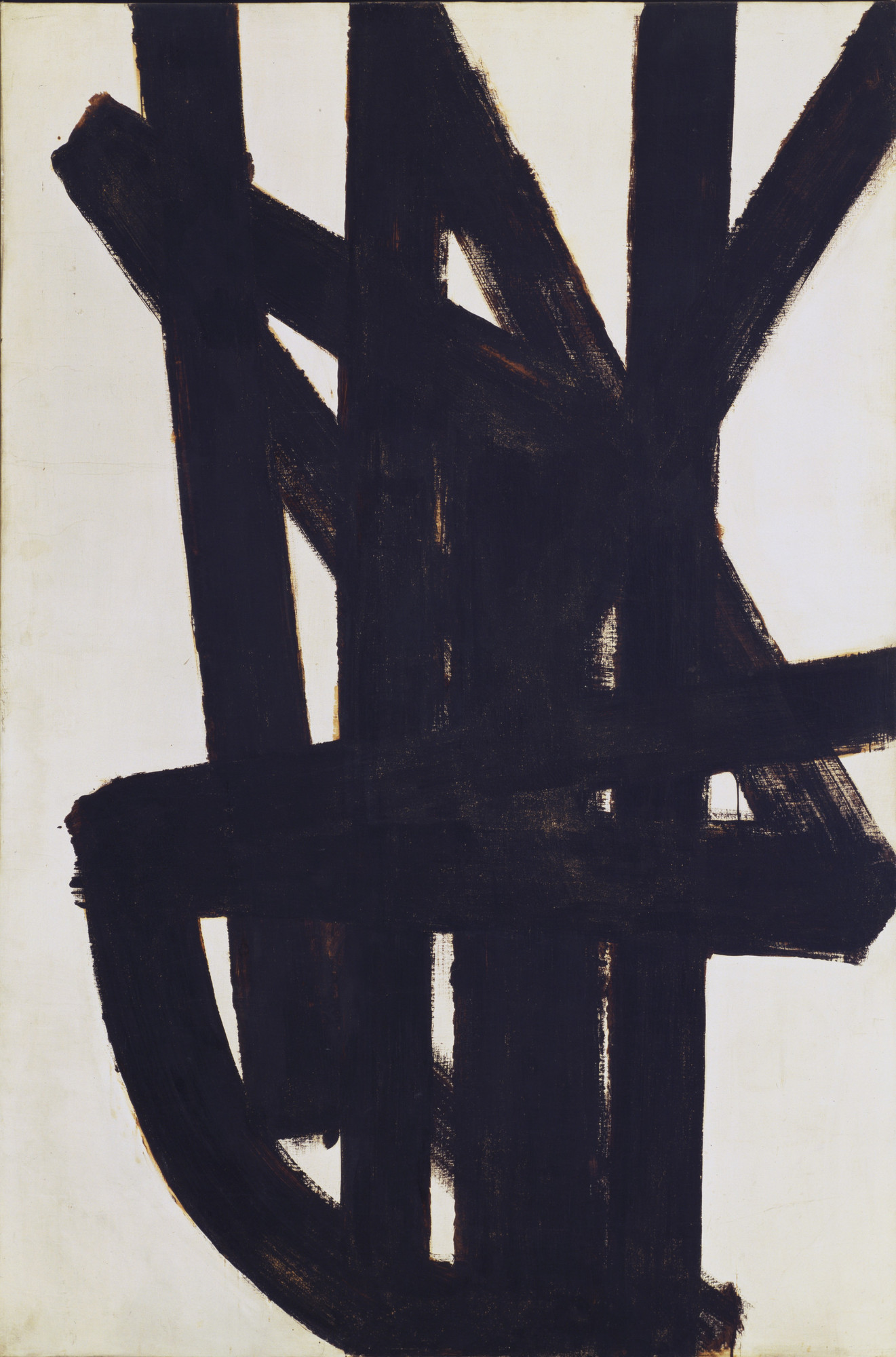 Pierre Soulages. Painting. 1948-49