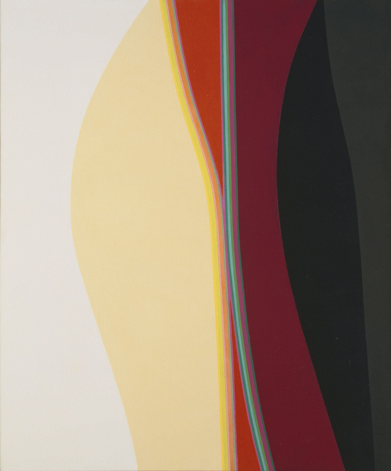 Lorser Feitelson. Untitled. May 31, 1964