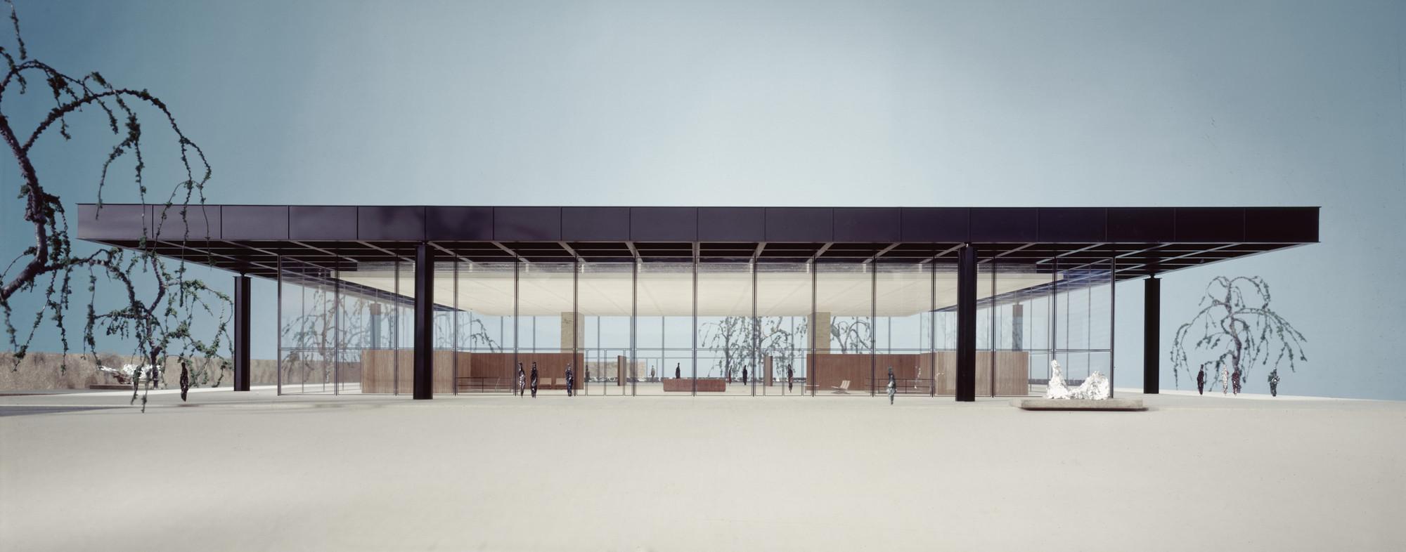 Ludwig Mies Van Der Rohe Georg Schaefer Museum Project Schweinfurt