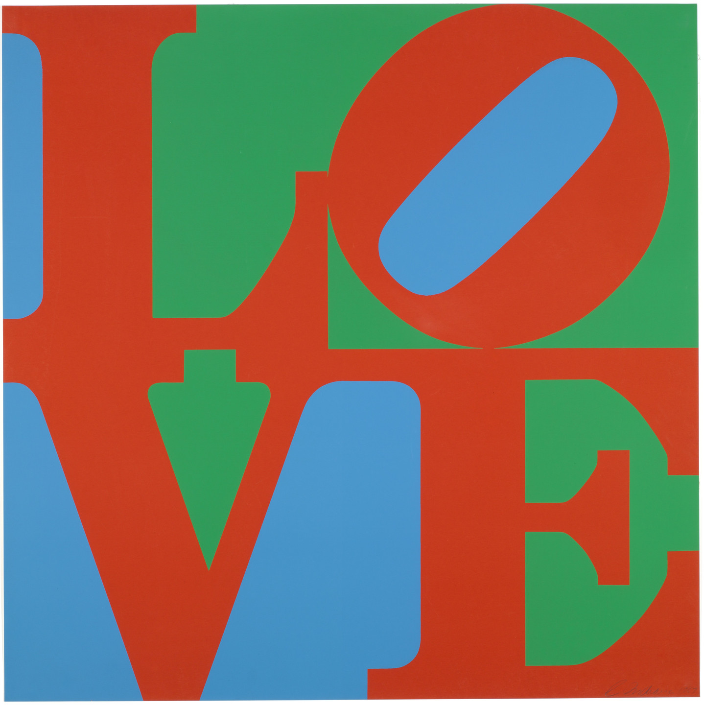 Robert Indiana. LOVE. 1967