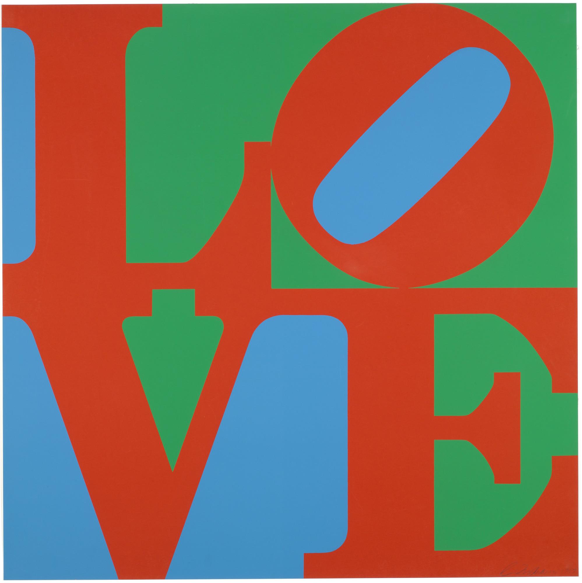 Robert Indiana. LOVE. 1967   MoMA