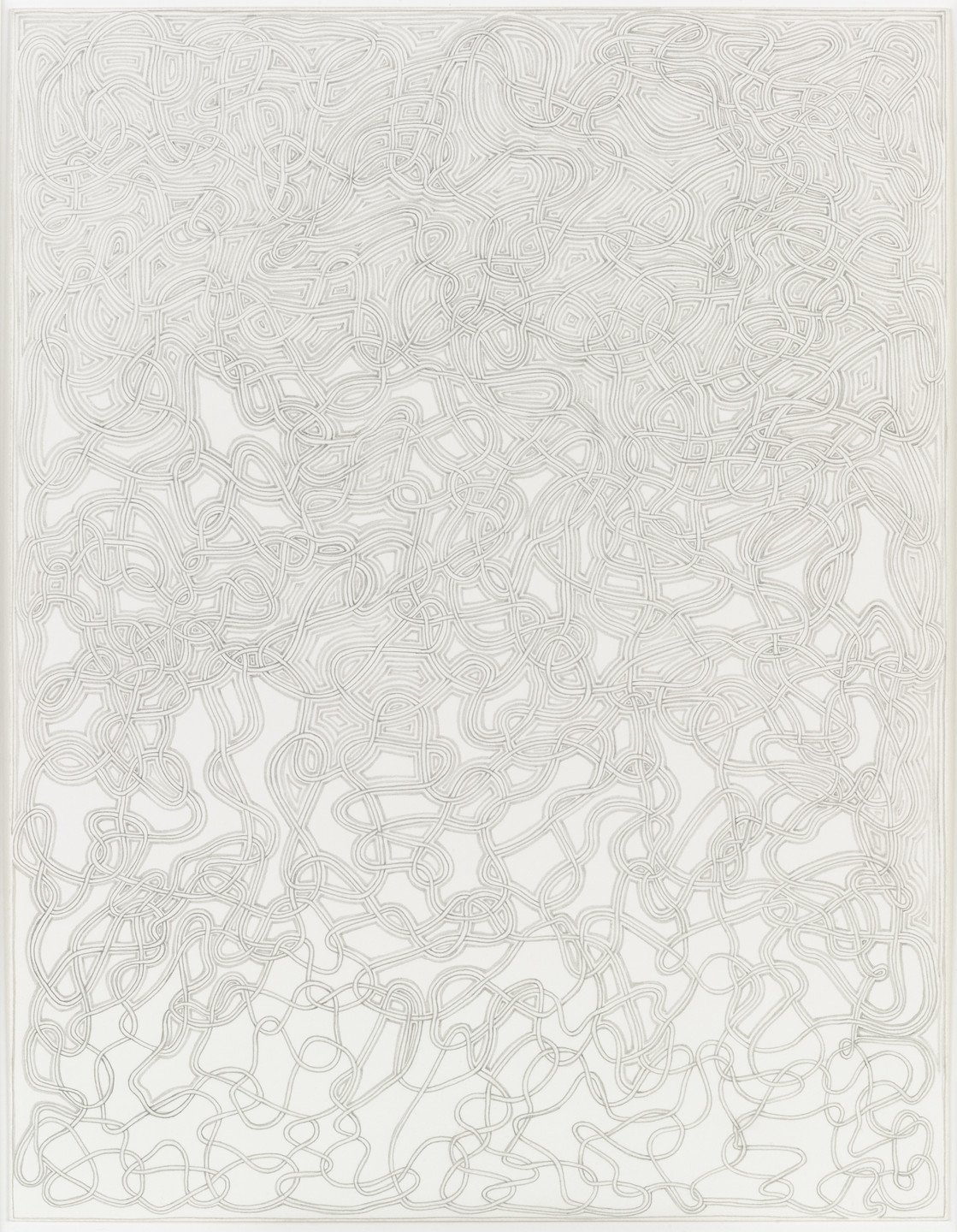 James Siena. Partially Coffered Unknot. (2003)