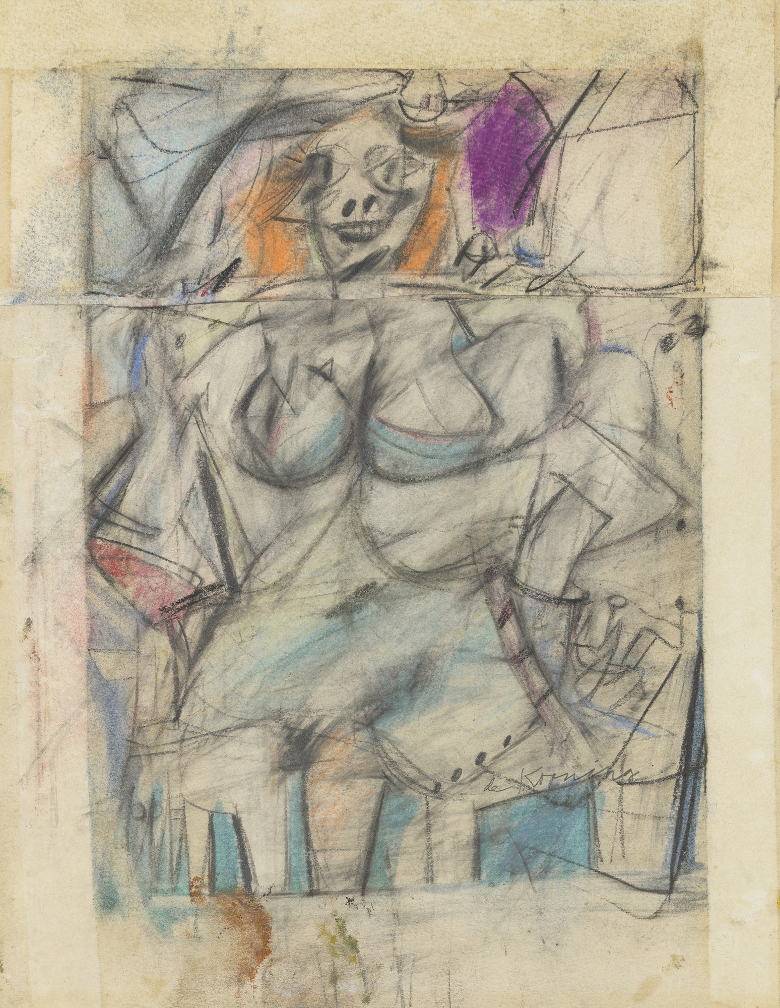Willem de Kooning Seated Woman (1952)
