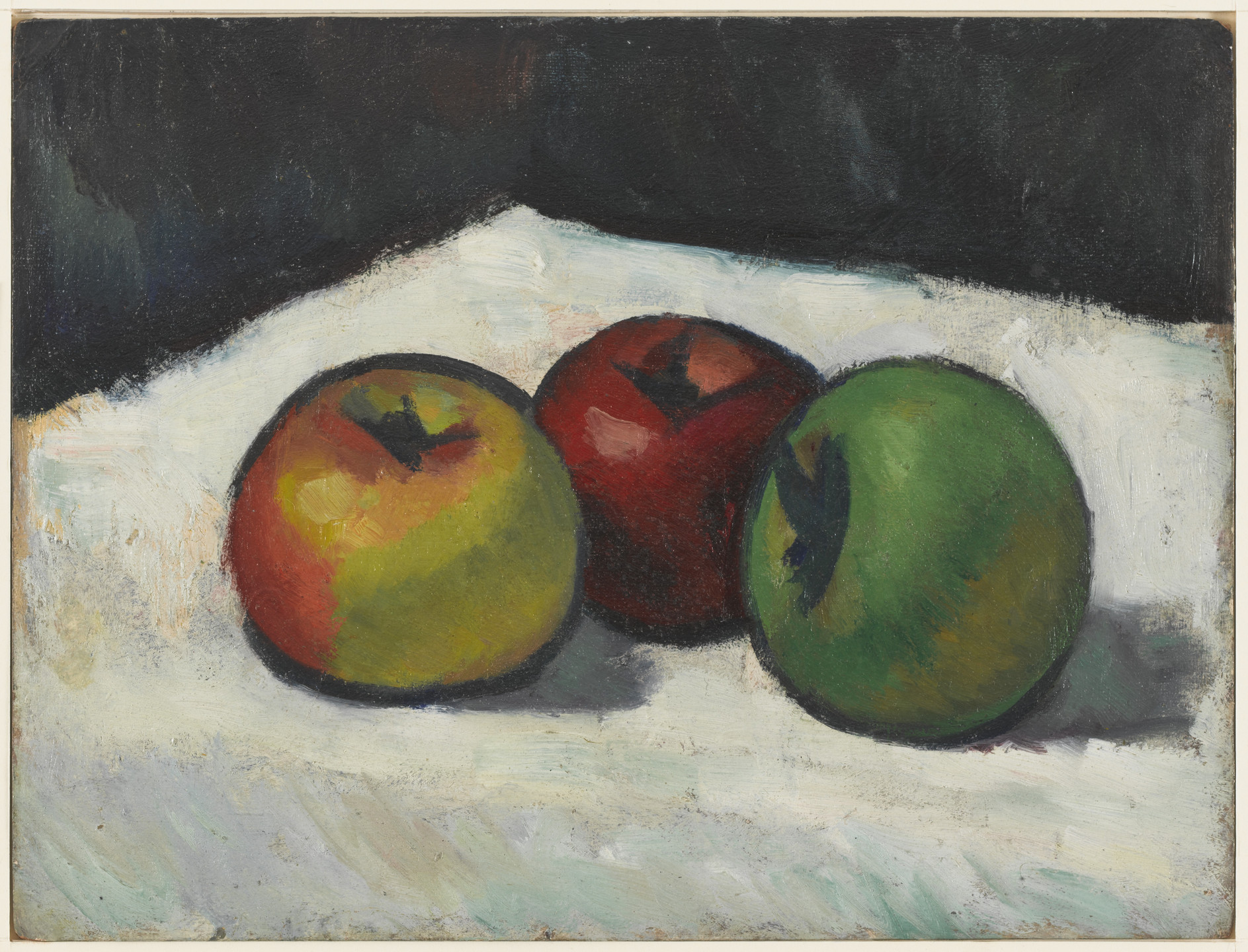 Morgan Russell. Three Apples. (1910)