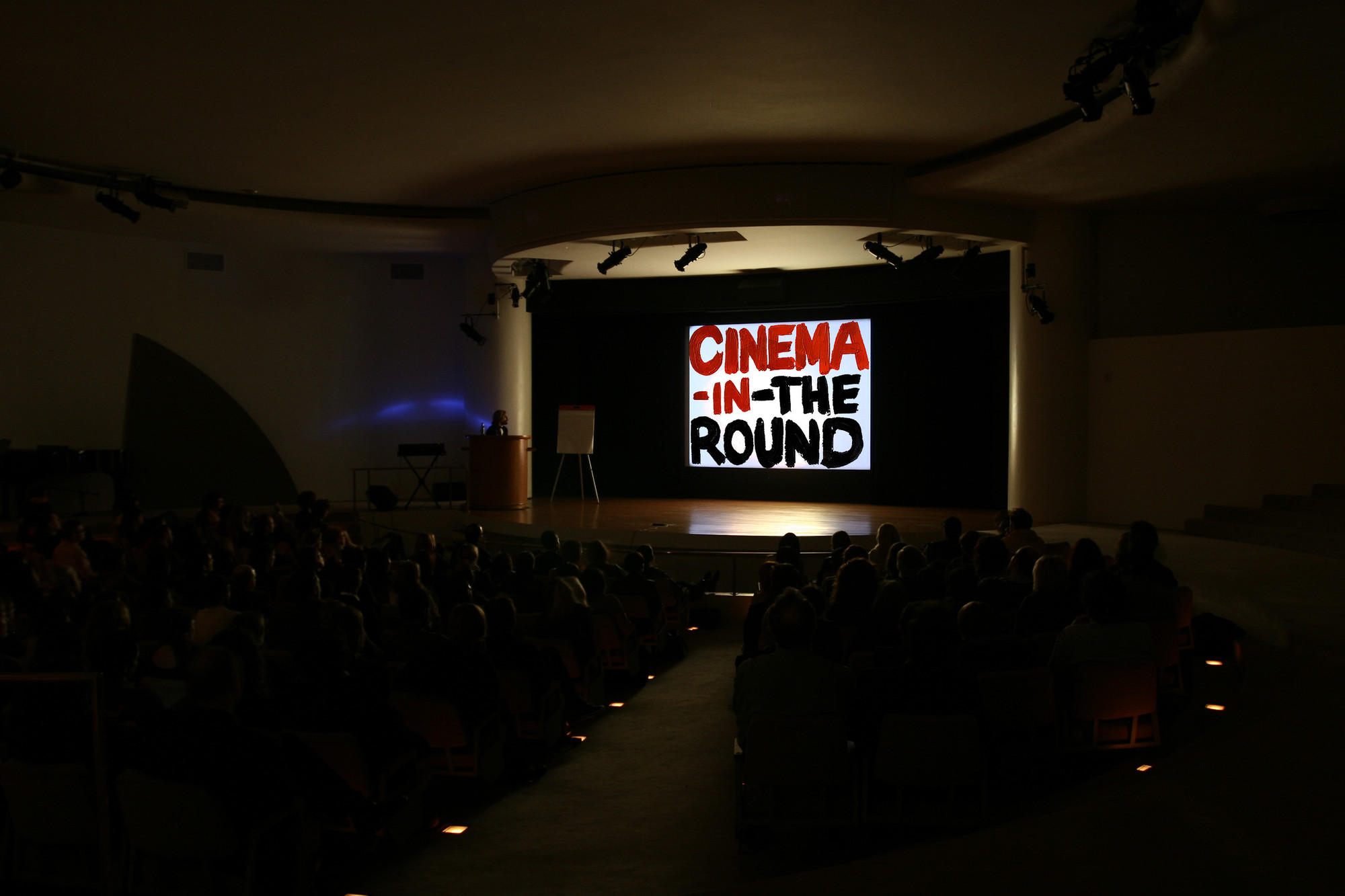 Mark Leckey. Cinema-in-the-Round. 2006-2008
