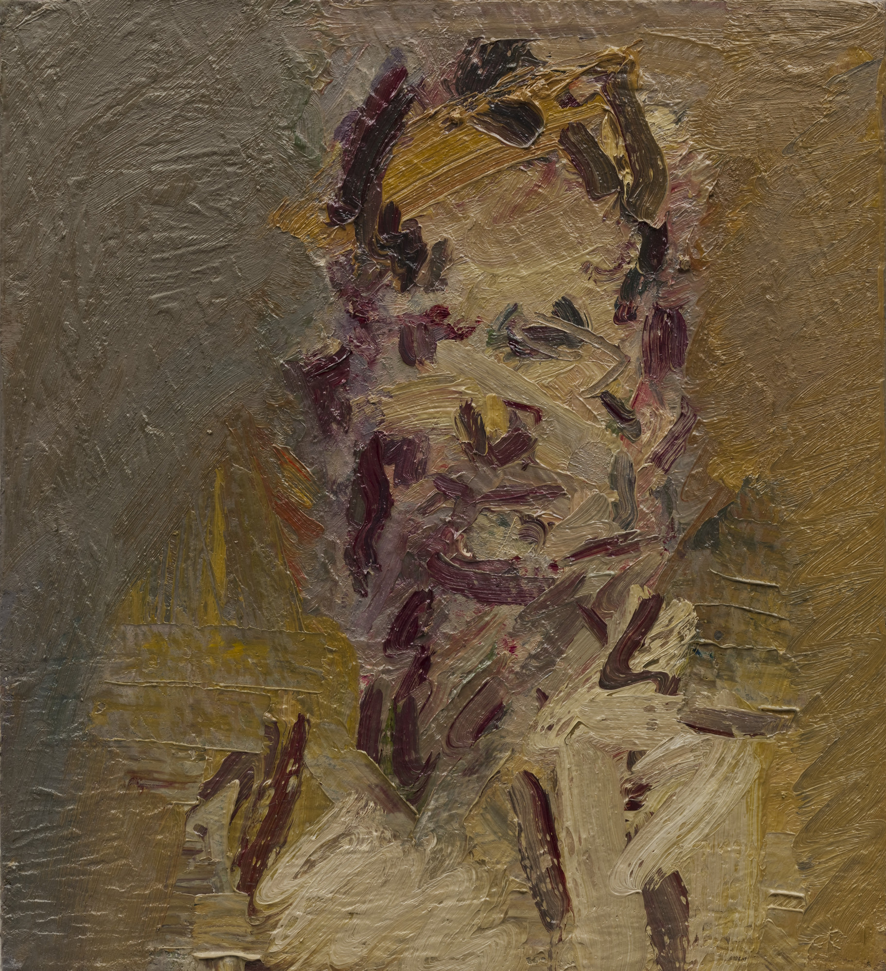 Frank Auerbach. Head of Jake. 2006-07