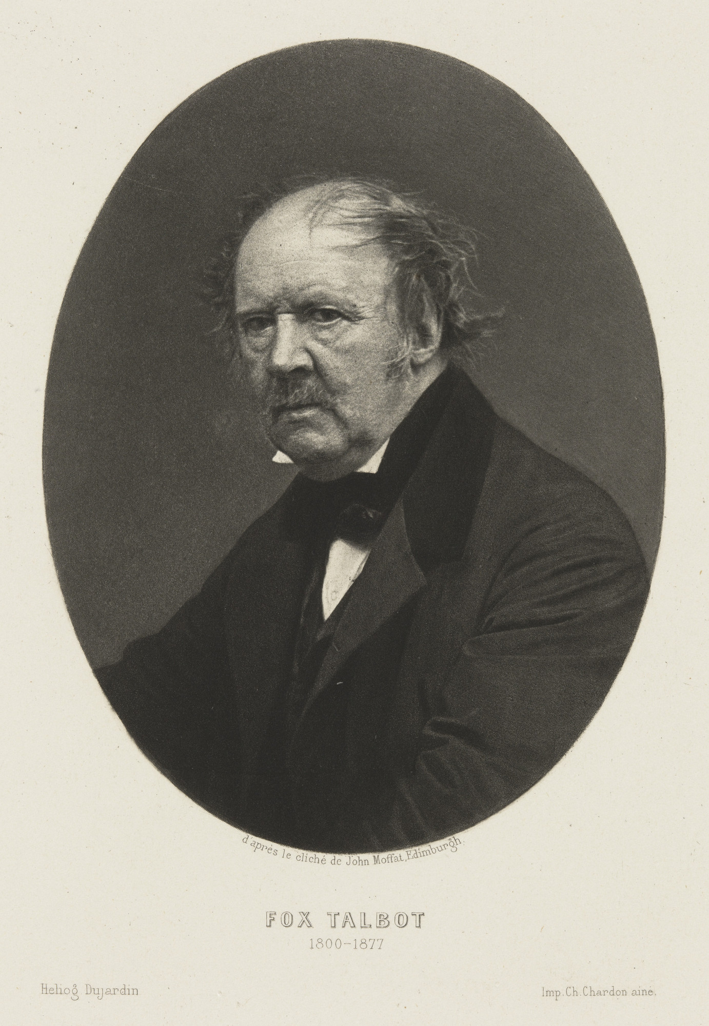 John Moffat. William Henry Fox Talbot. 1864