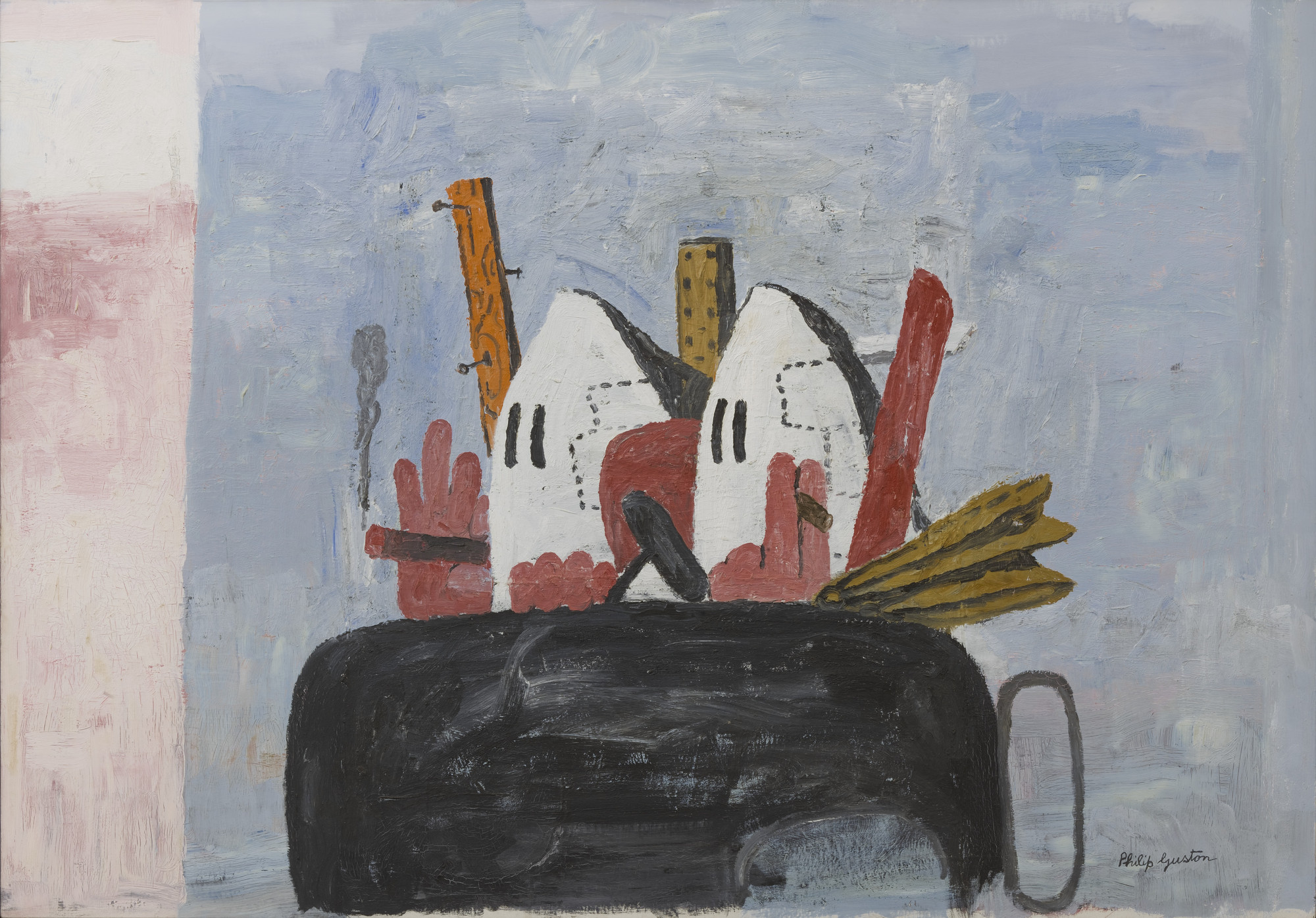 Philip Guston. Edge of Town. 1969