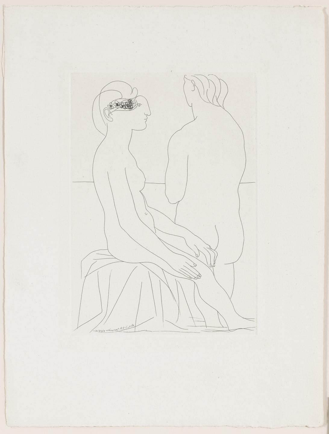 Pablo Picasso. Women at the Bath (Femmes au bain) from the Vollard Suite (Suite Vollard). 1934, published 1939