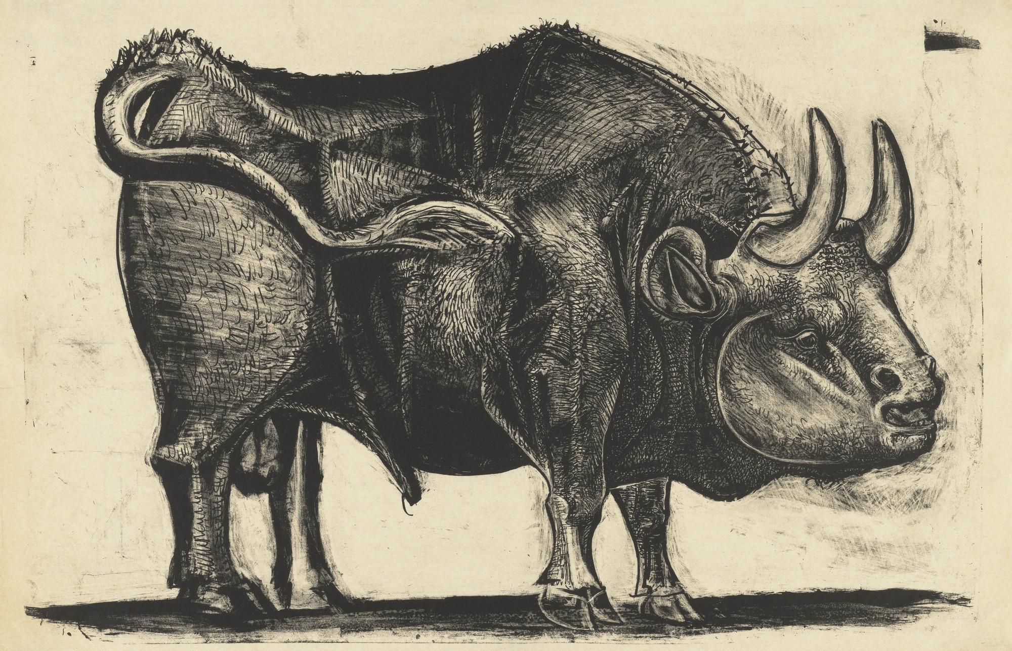 Pablo Picasso. The Bull (Le Taureau), state IV. 1945 | MoMA