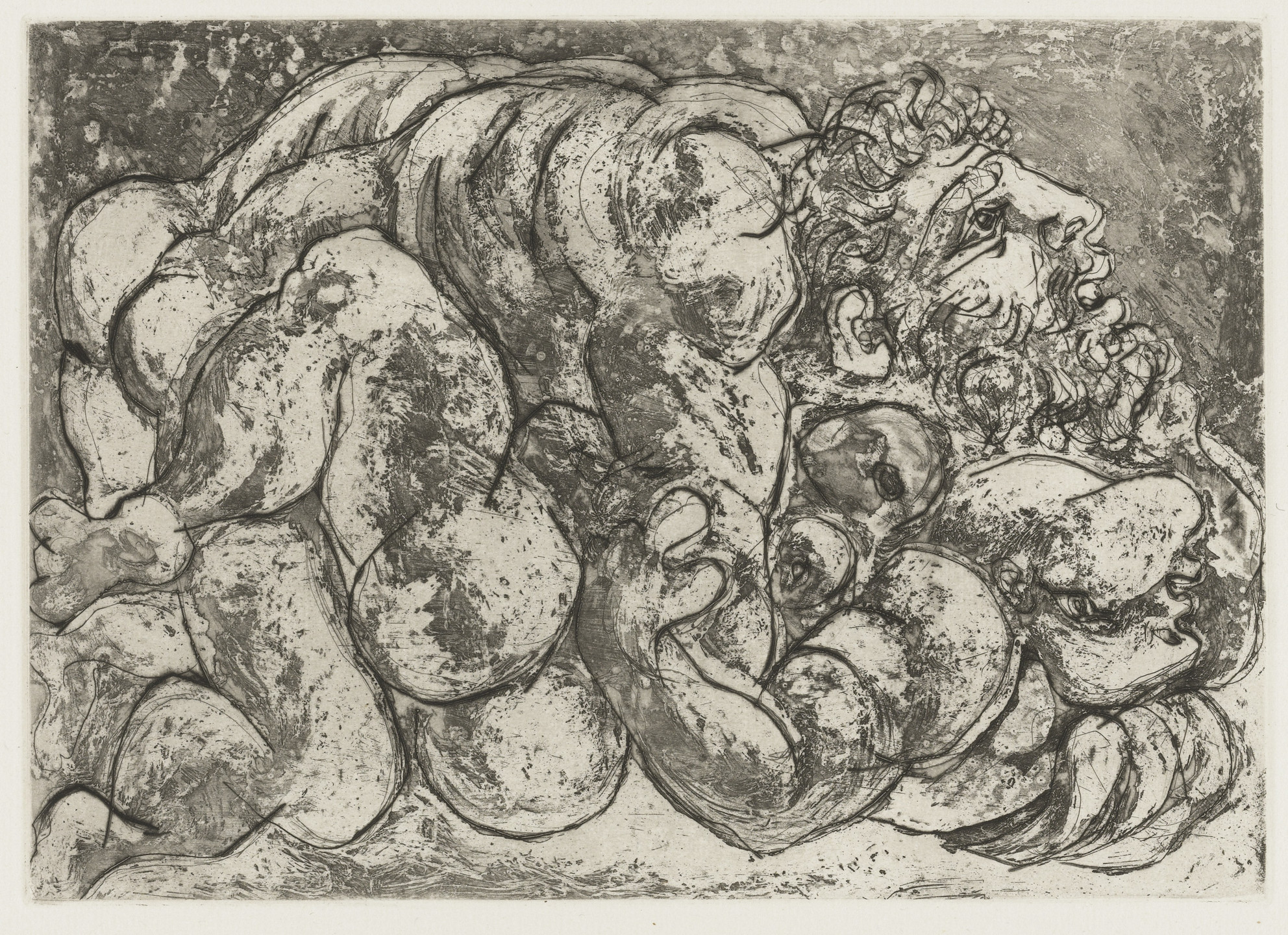 Pablo Picasso. Coupling I (Accouplement I) from the Vollard Suite (Suite Vollard). 1933, published 1939