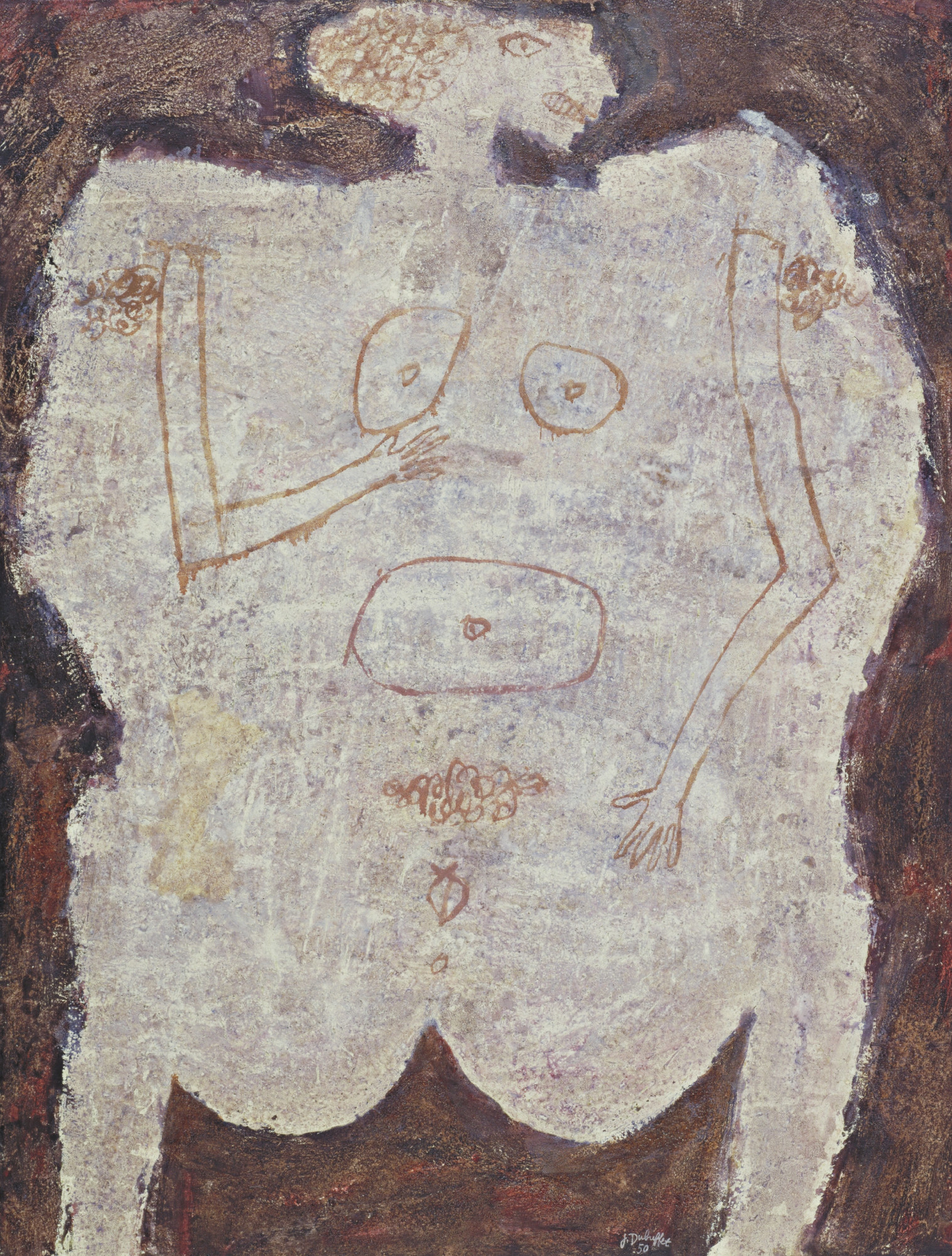 Jean Dubuffet. The Jewish Woman. October 1950