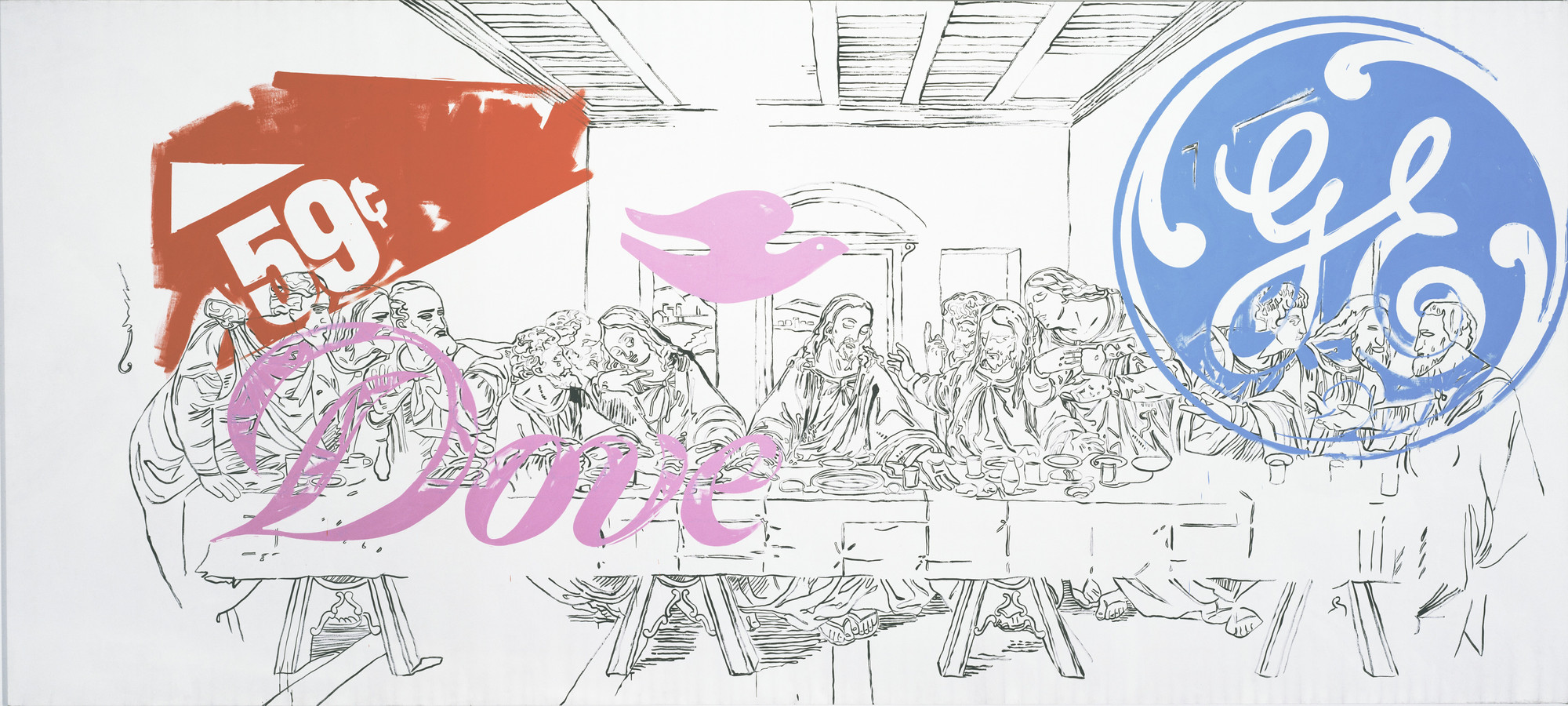 Andy Warhol. The Last Supper. 1986