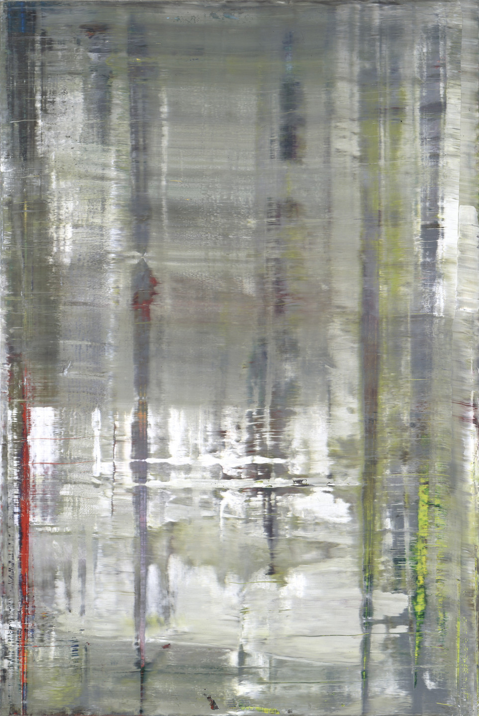 Gerhard Richter. Forest (12). 2005