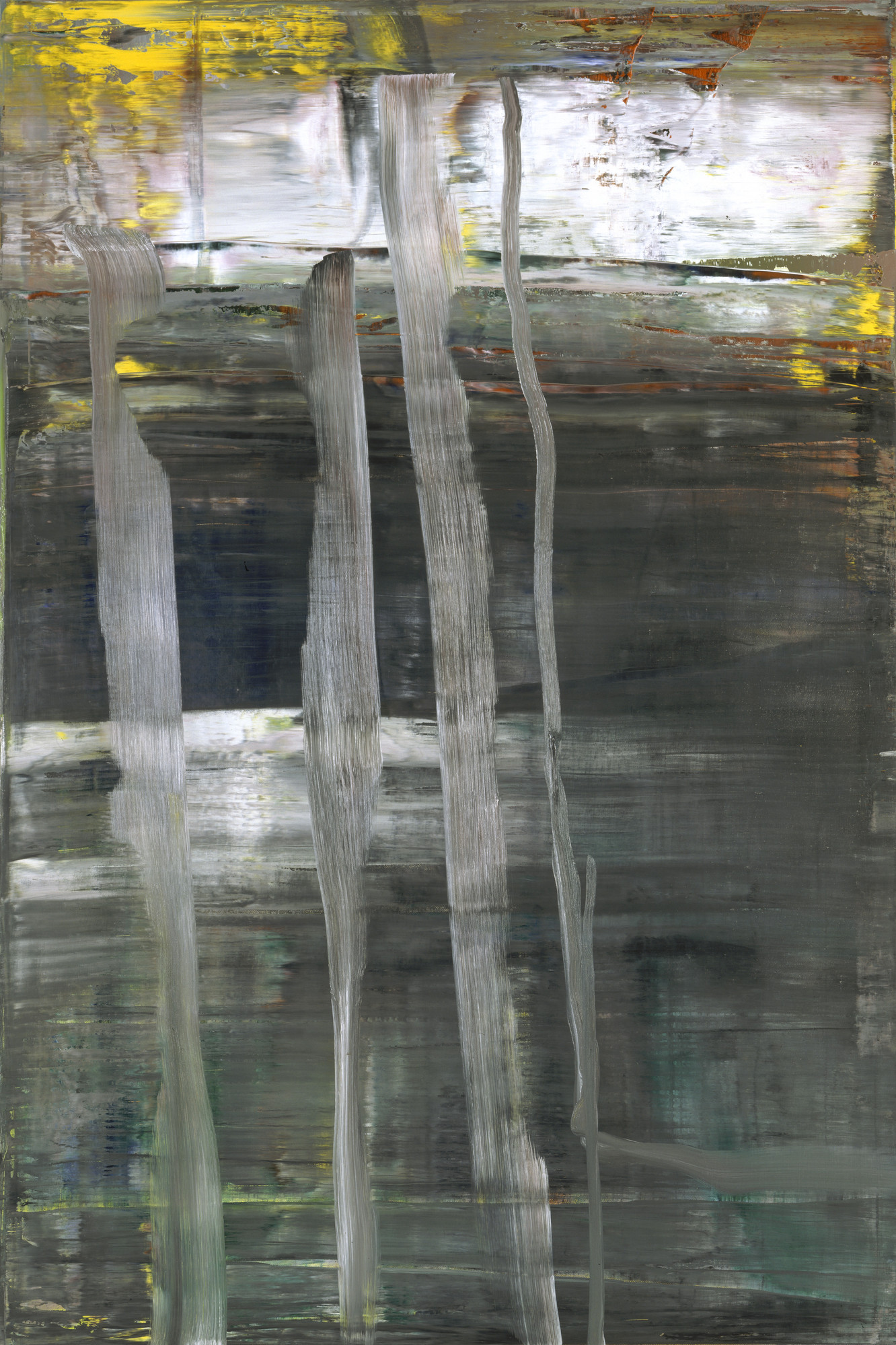 Gerhard Richter. Forest (2). 2005