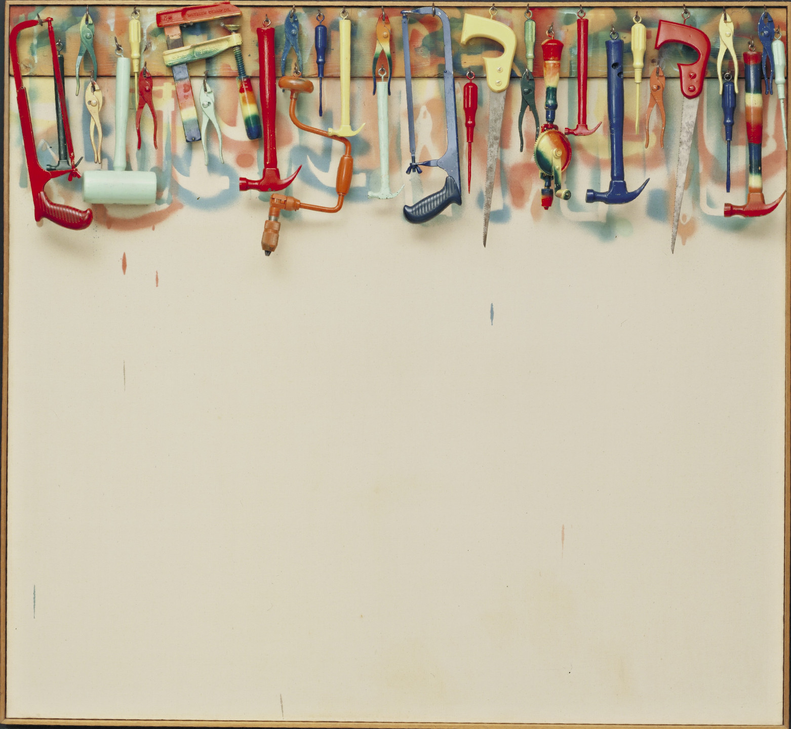 Jim Dine. Five Feet of Colorful Tools. 1962