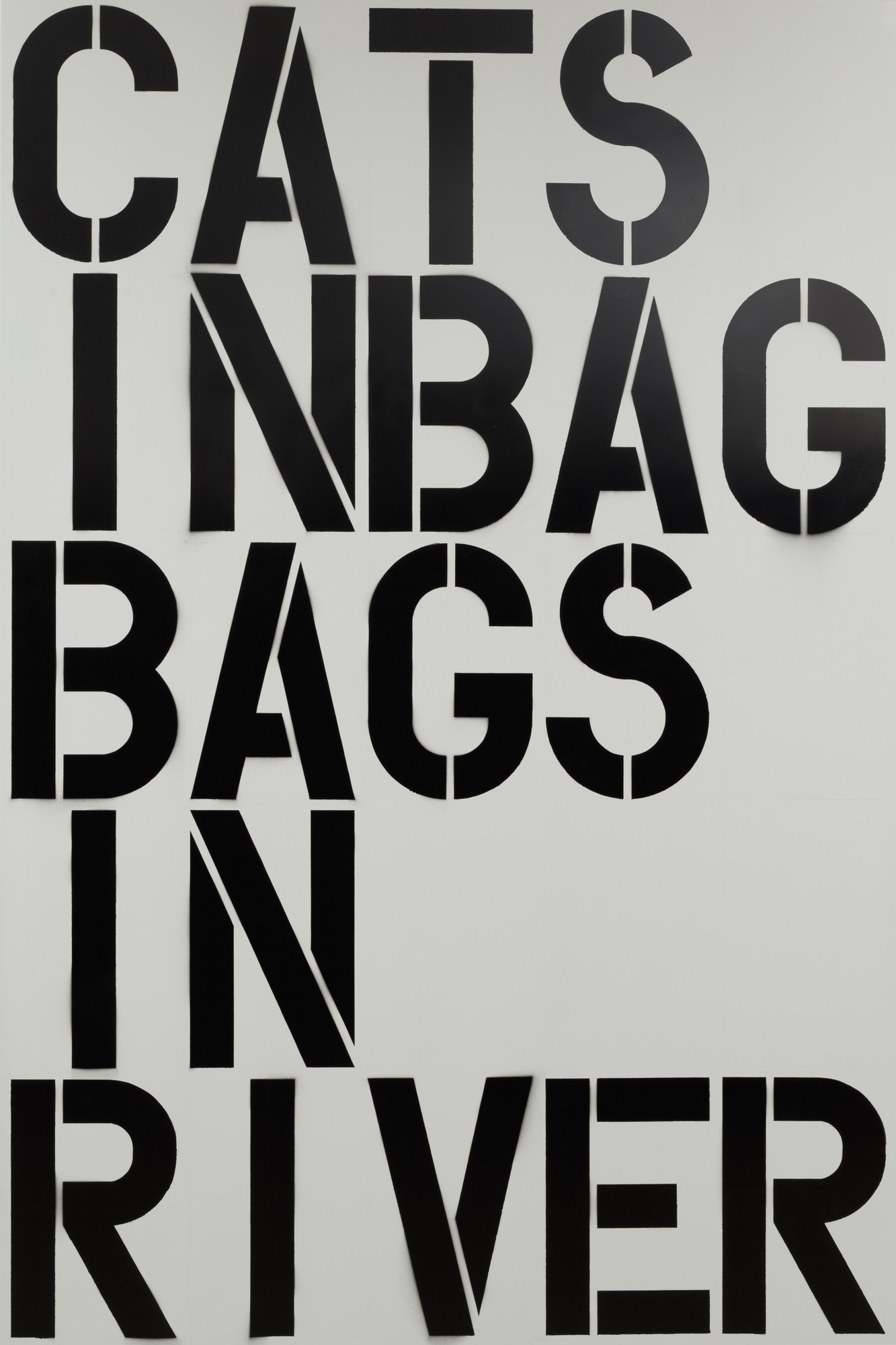 Christopher Wool. Untitled. 1990