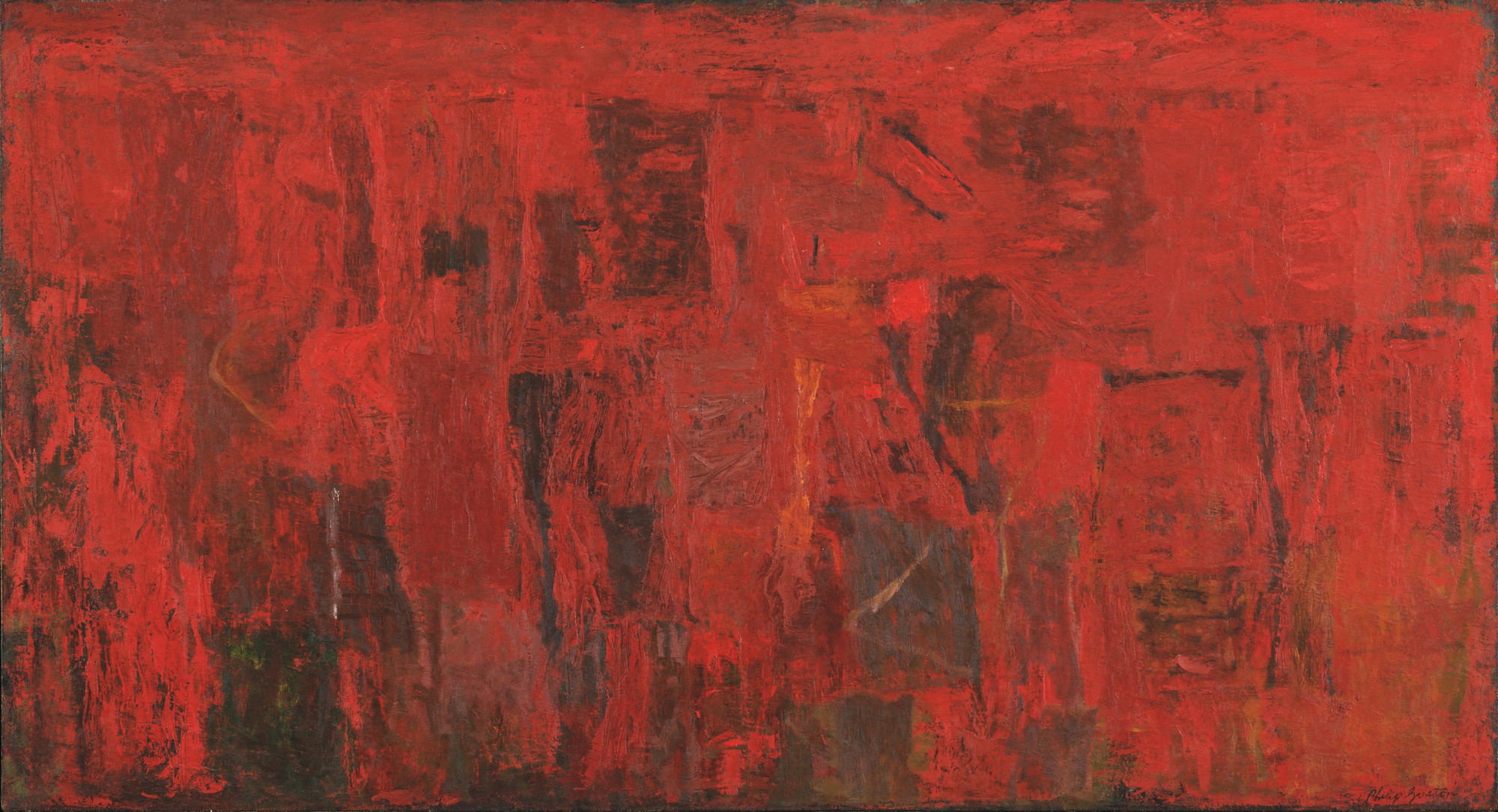 Philip Guston. Red Painting. 1950