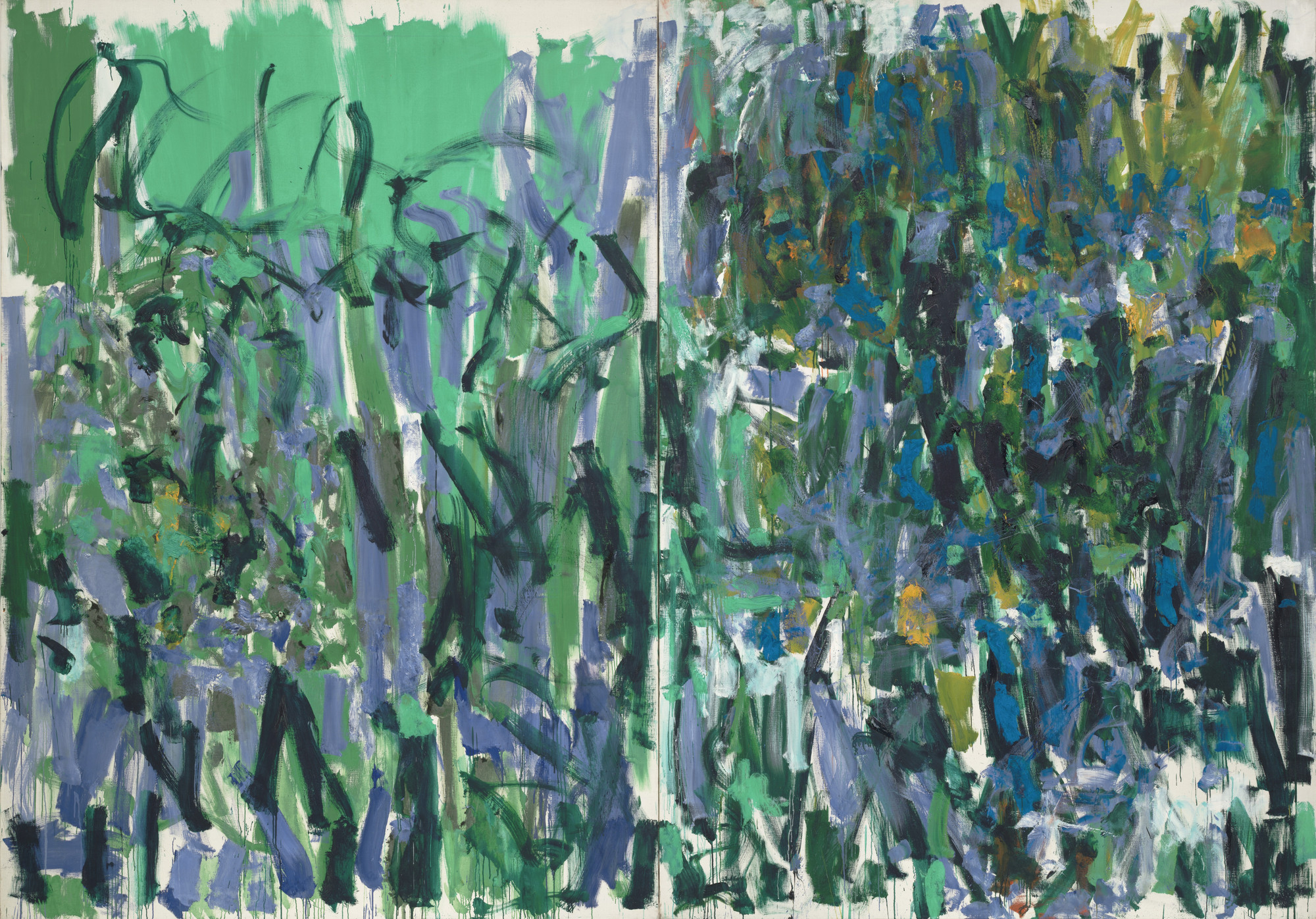 Joan Mitchell. No Rain. 1976