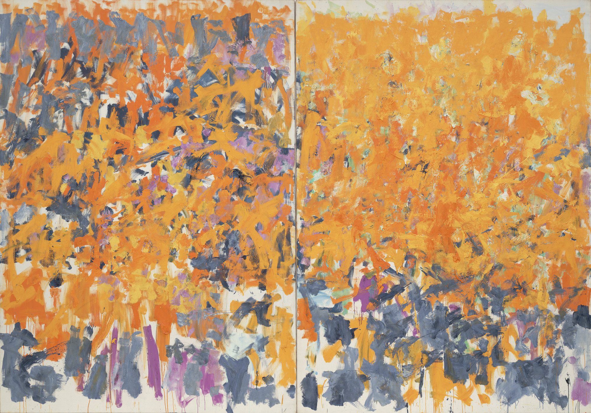 Joan Mitchell Wood Wind No Tuba 1980