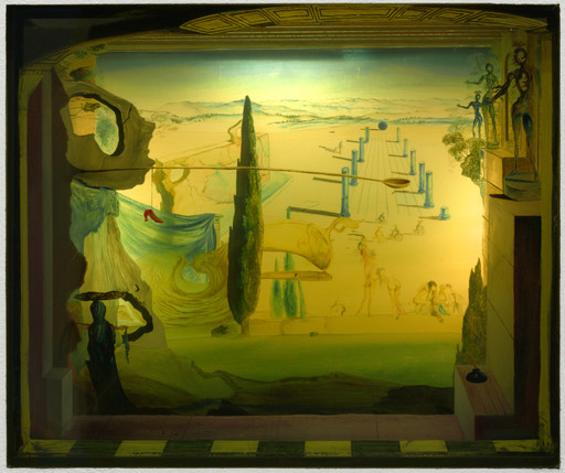 Salvador Dalí. The Little Theater. 1934