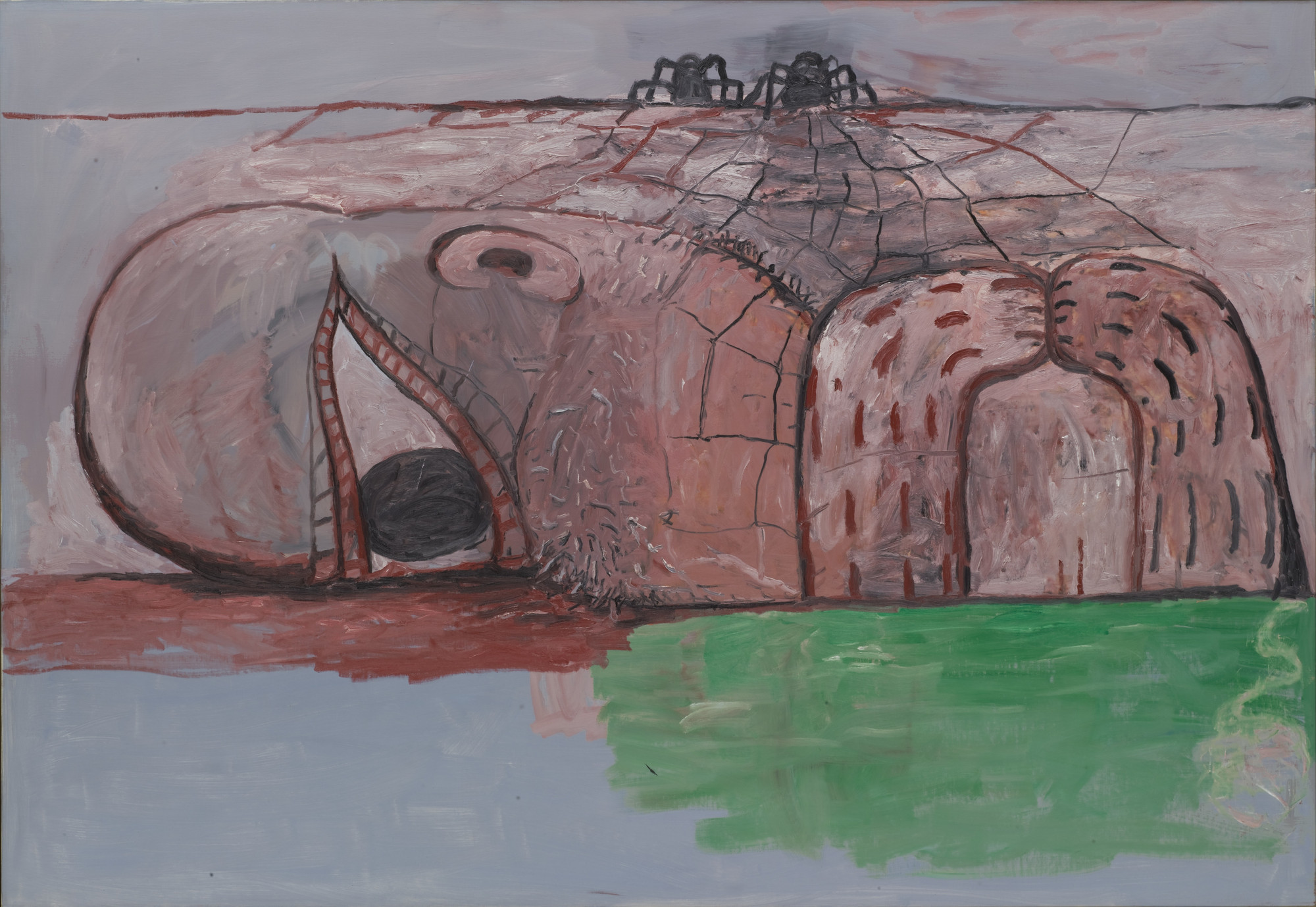 Philip Guston. Web. 1975