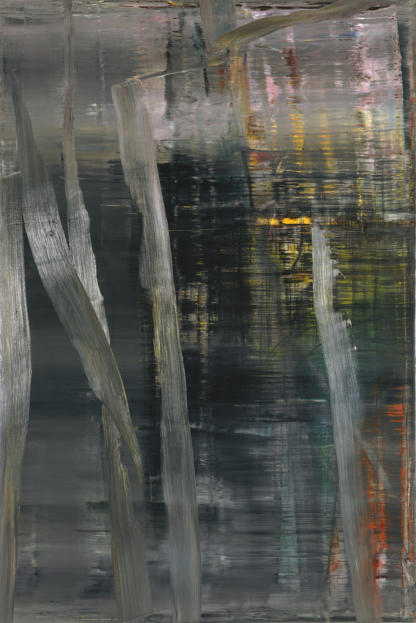 Gerhard Richter. Forest (1). 2005