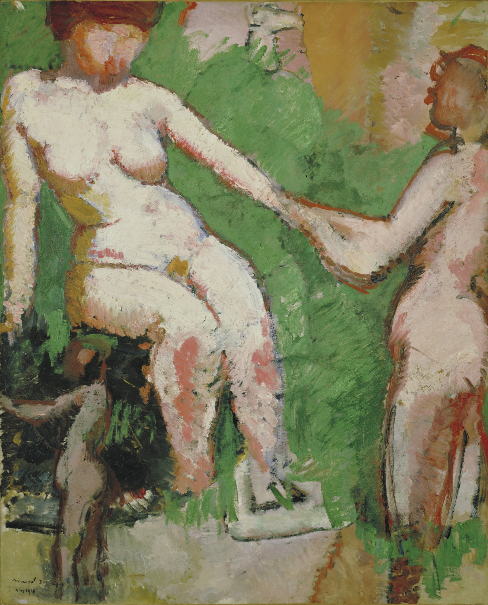 Marcel Duchamp. Two Nudes. 1910