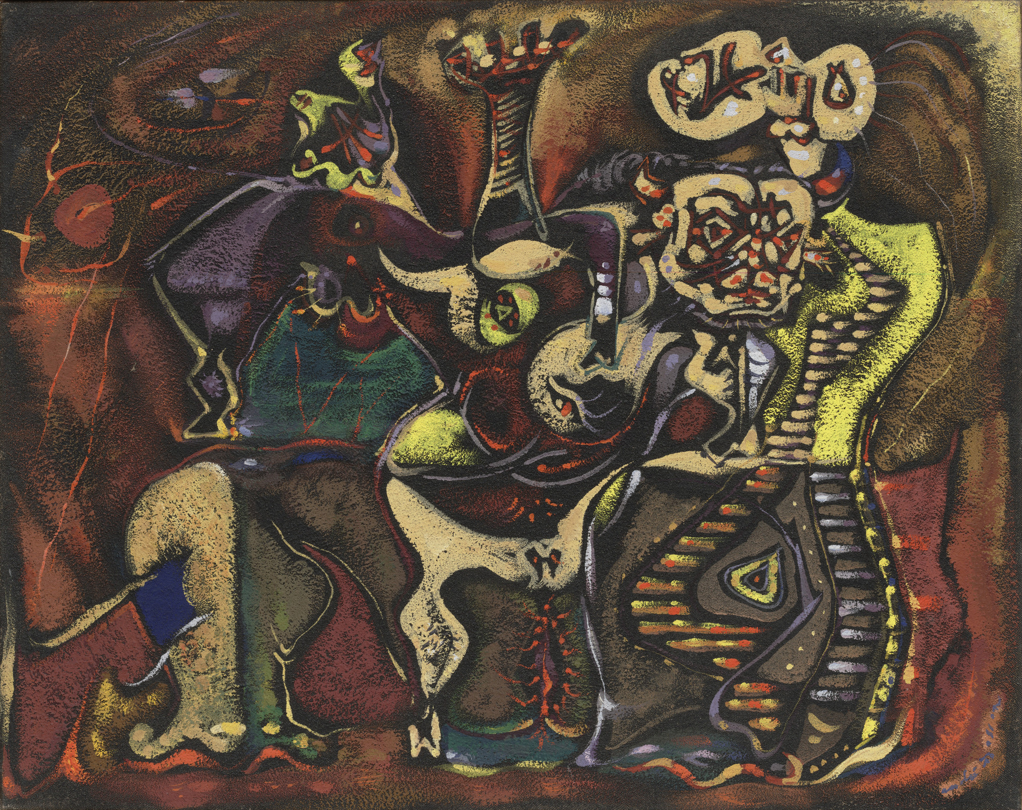 André Masson. Pasiphae. 1942