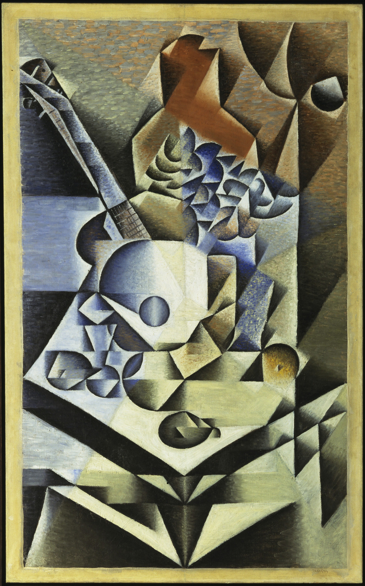 Juan Gris. Still Life with Flowers. 1912