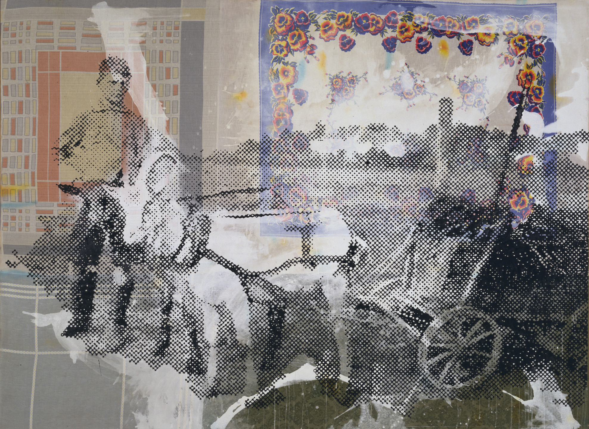 Sigmar Polke. The Goat Wagon. 1992