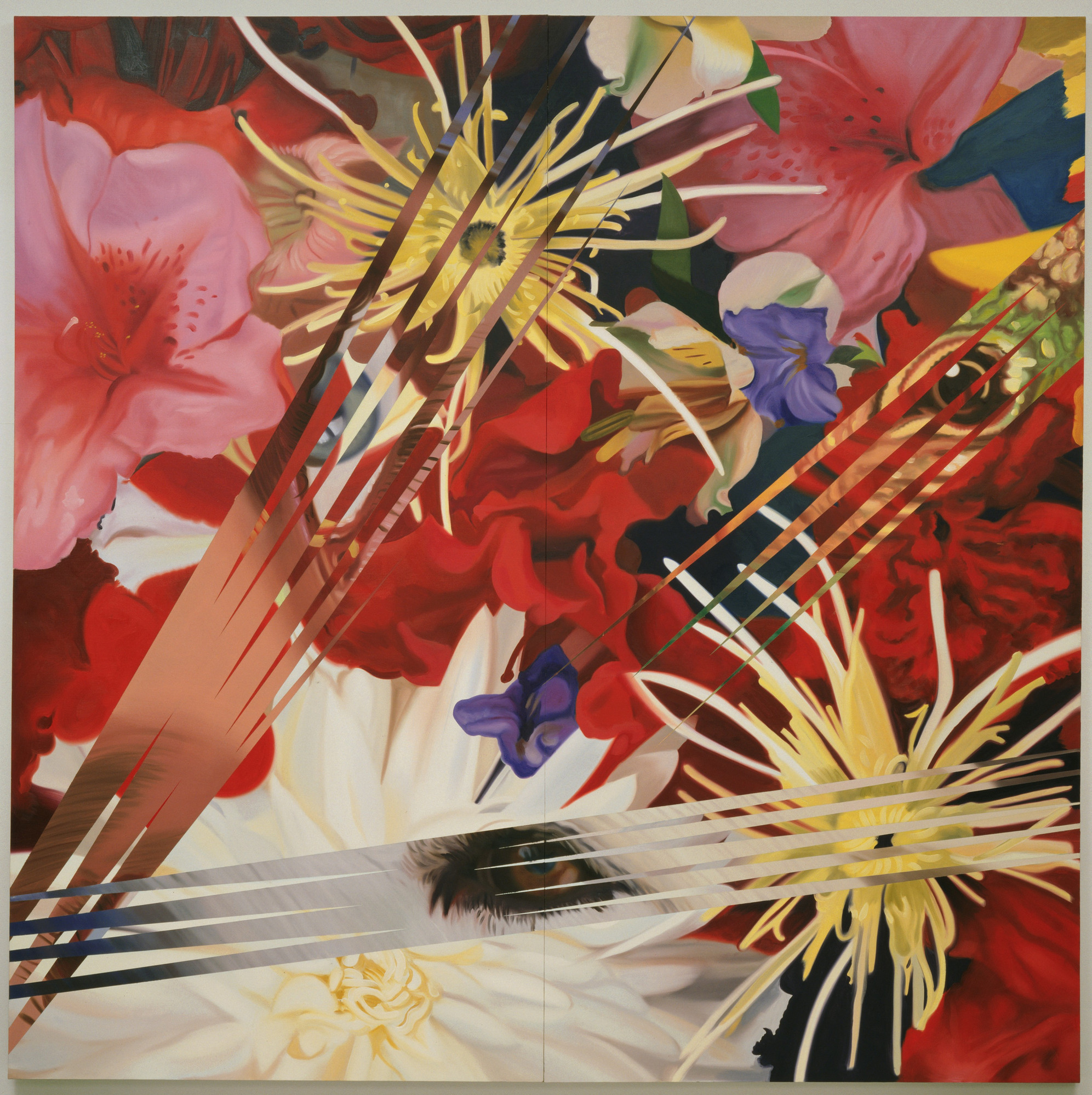James Rosenquist. Lady Dog Lizard. 1985