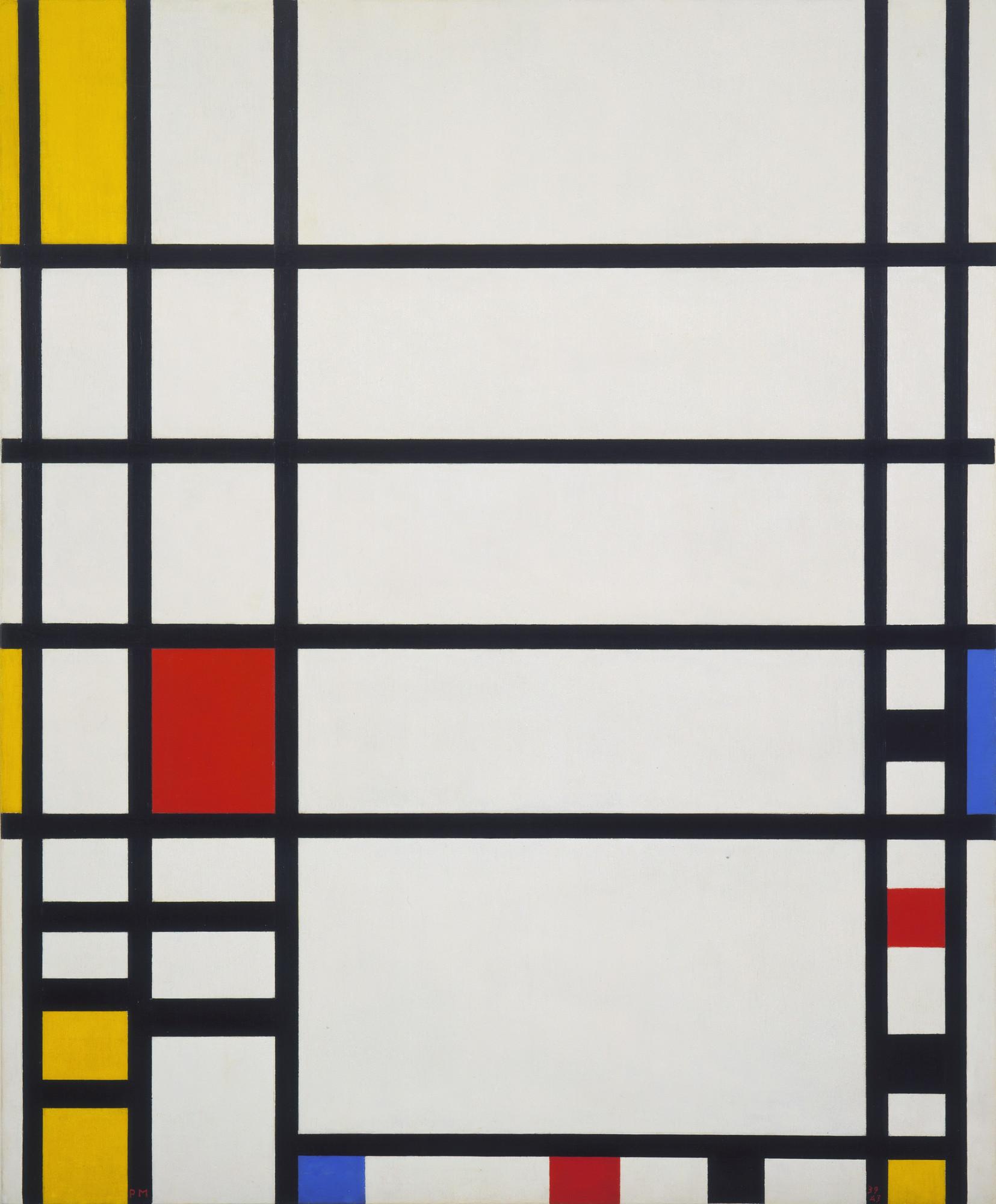 Piet Mondrian Trafalgar Square 1939 43